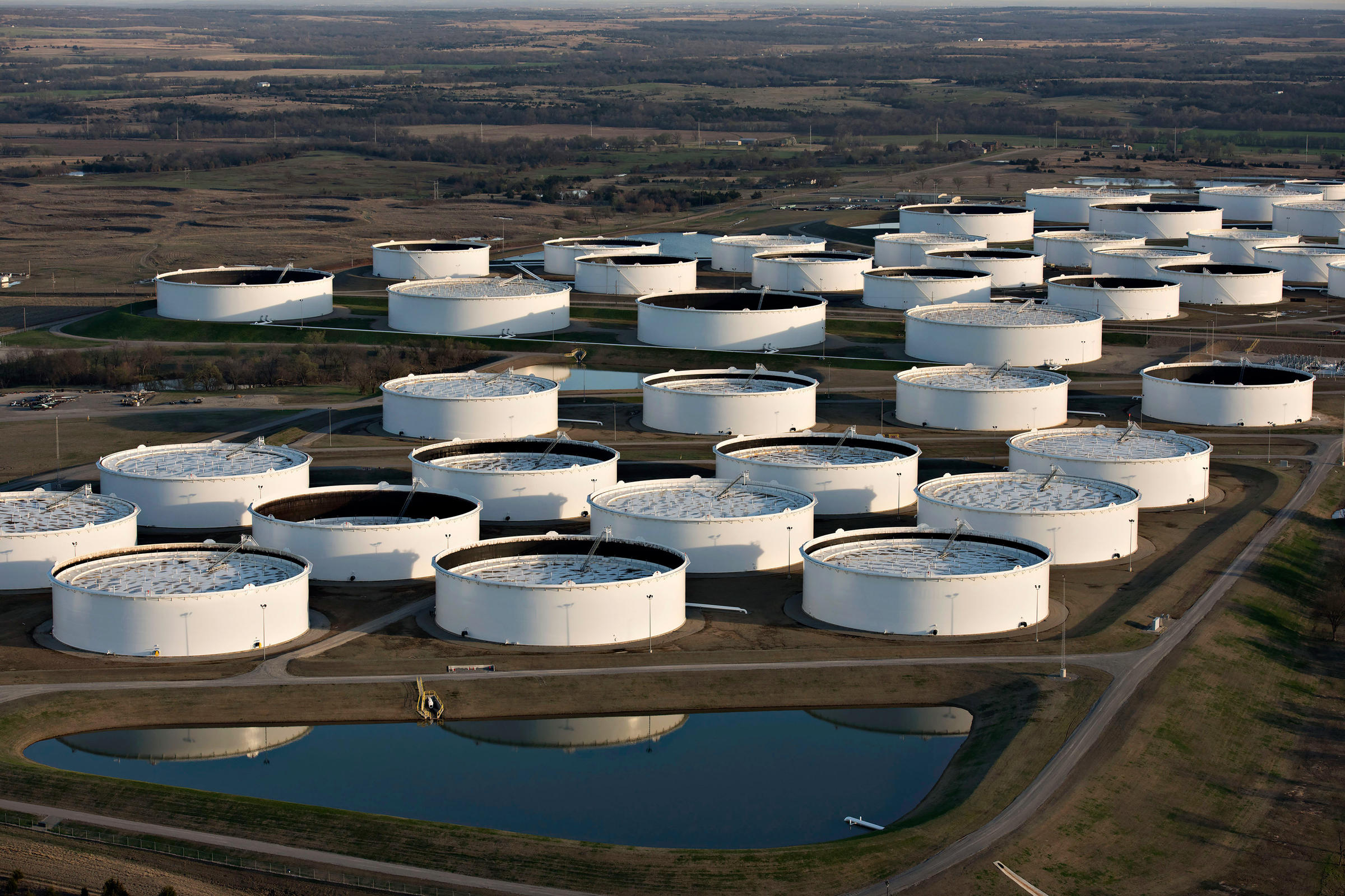 With So Much Oil Flowing, U.S. May Be Reaching Storage Limits | KOSU