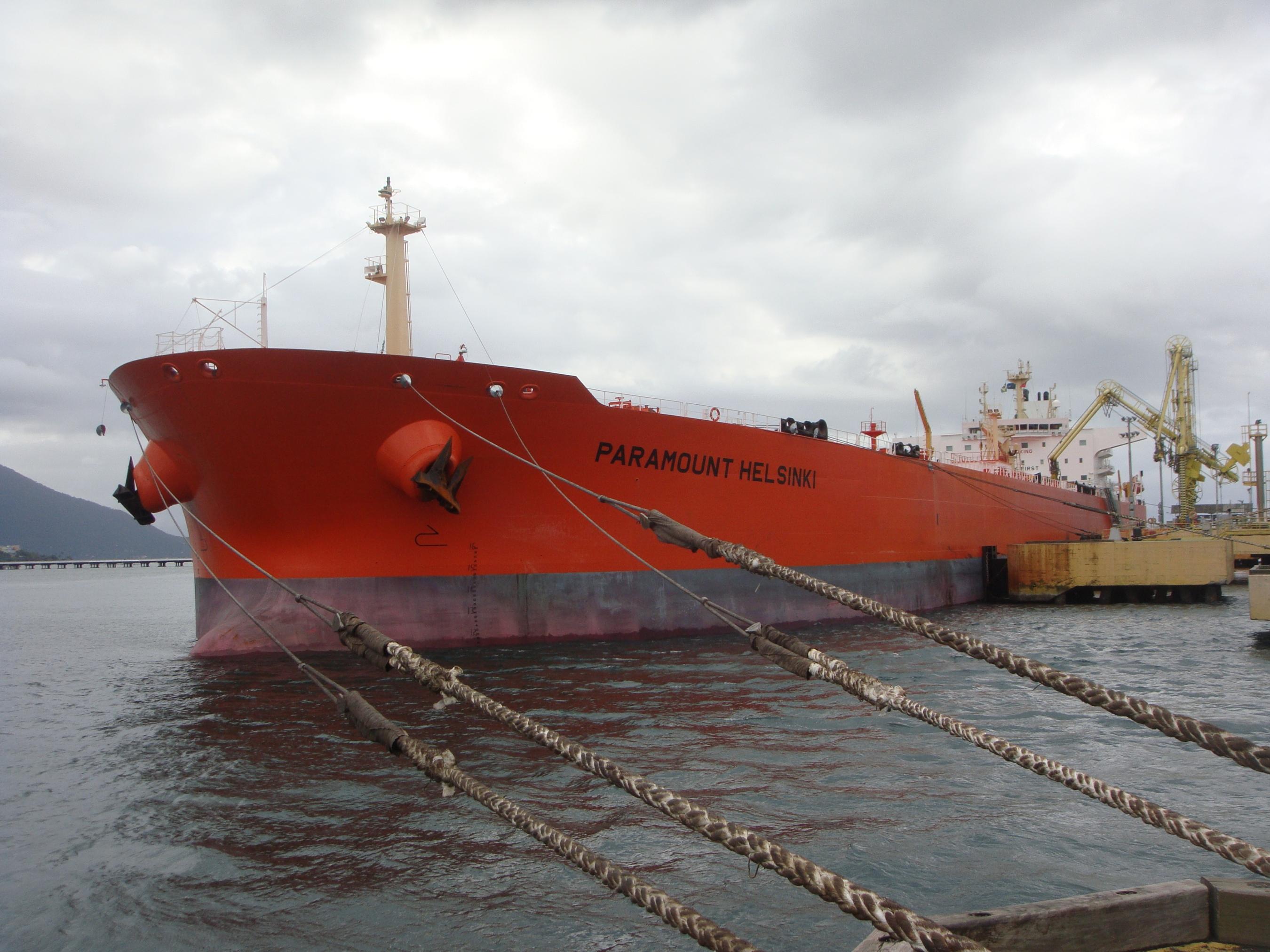 PARAMOUNT HELSINKI - 9453963 - CRUDE OIL TANKER | Maritime-Connector.com