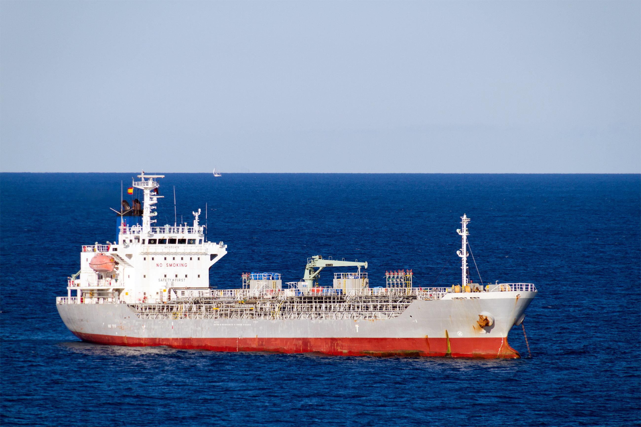 Oil Tanker Moored, Anchor, Ship, Nautical, Navigation, HQ Photo