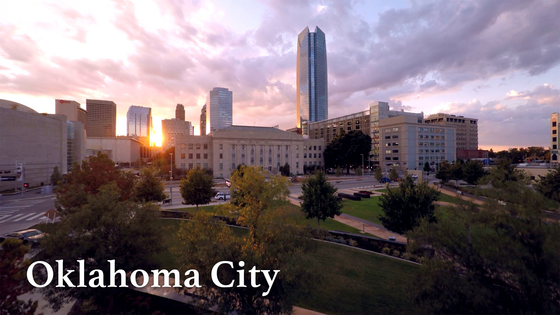 Oklahoma City by Drone in 4K - YouTube
