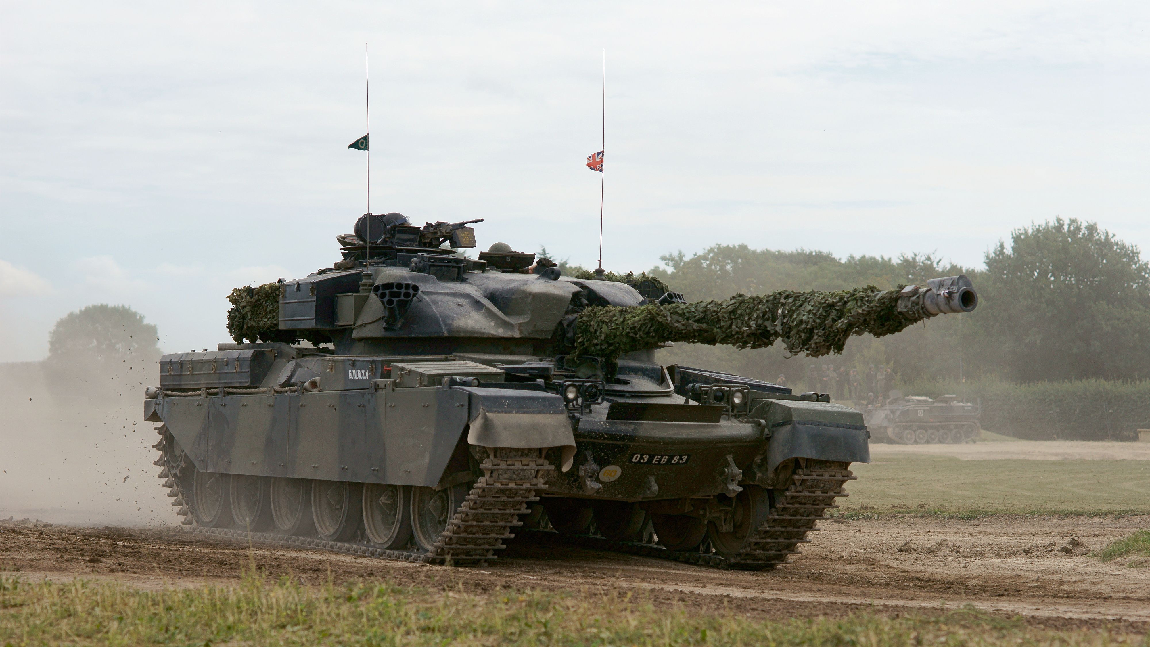 Old army tank photo