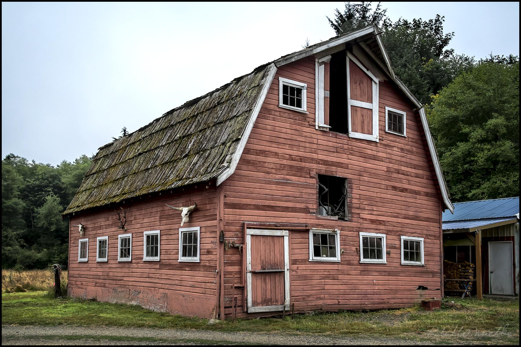 An Old Barn |
