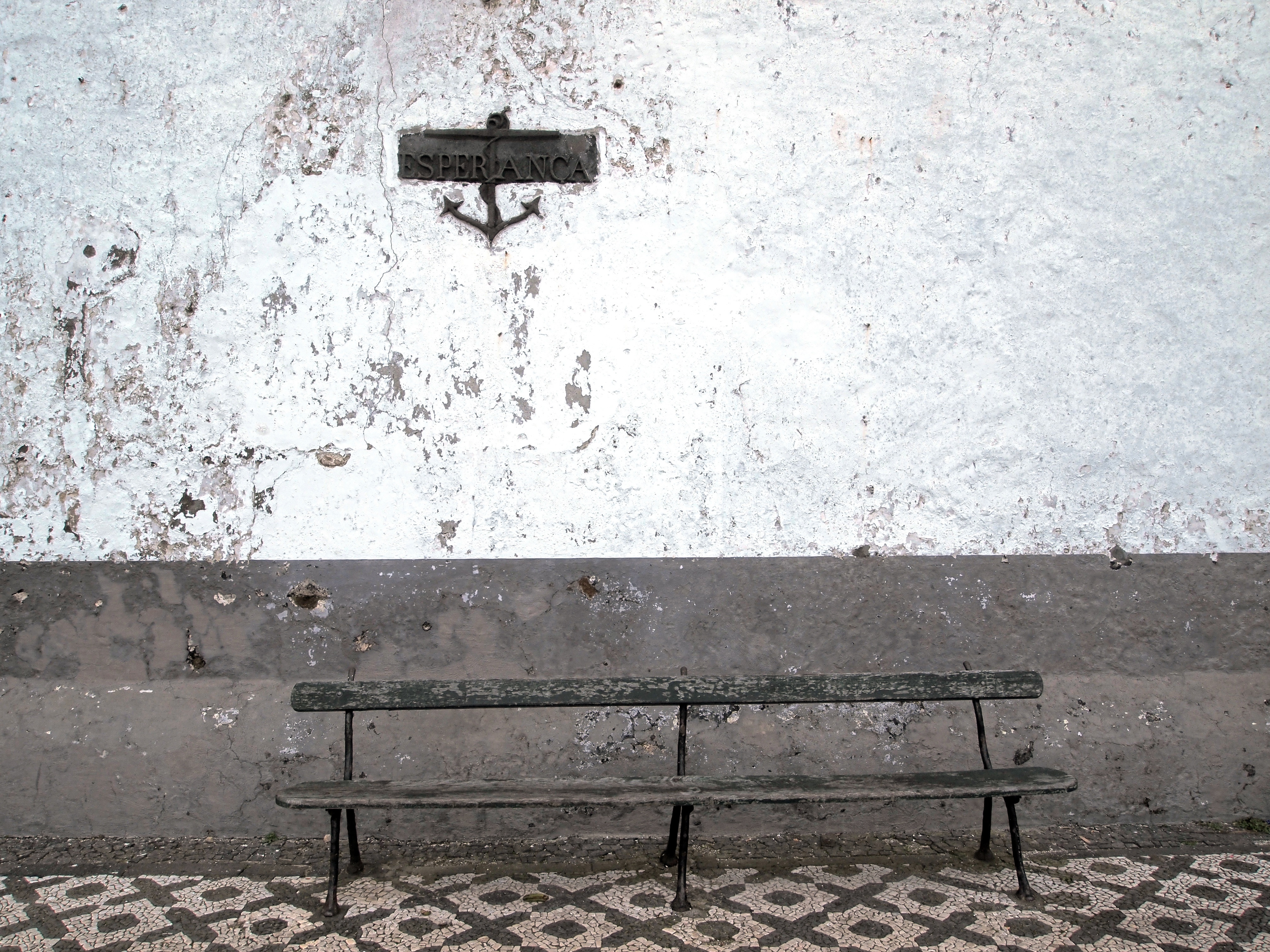 Old bench photo
