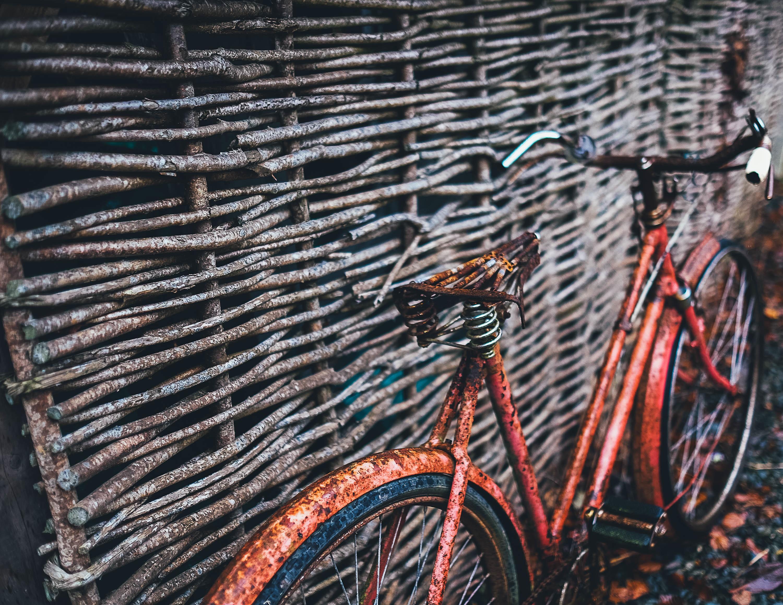 Old Bike, Bike, Cycle, Metal, Old, HQ Photo