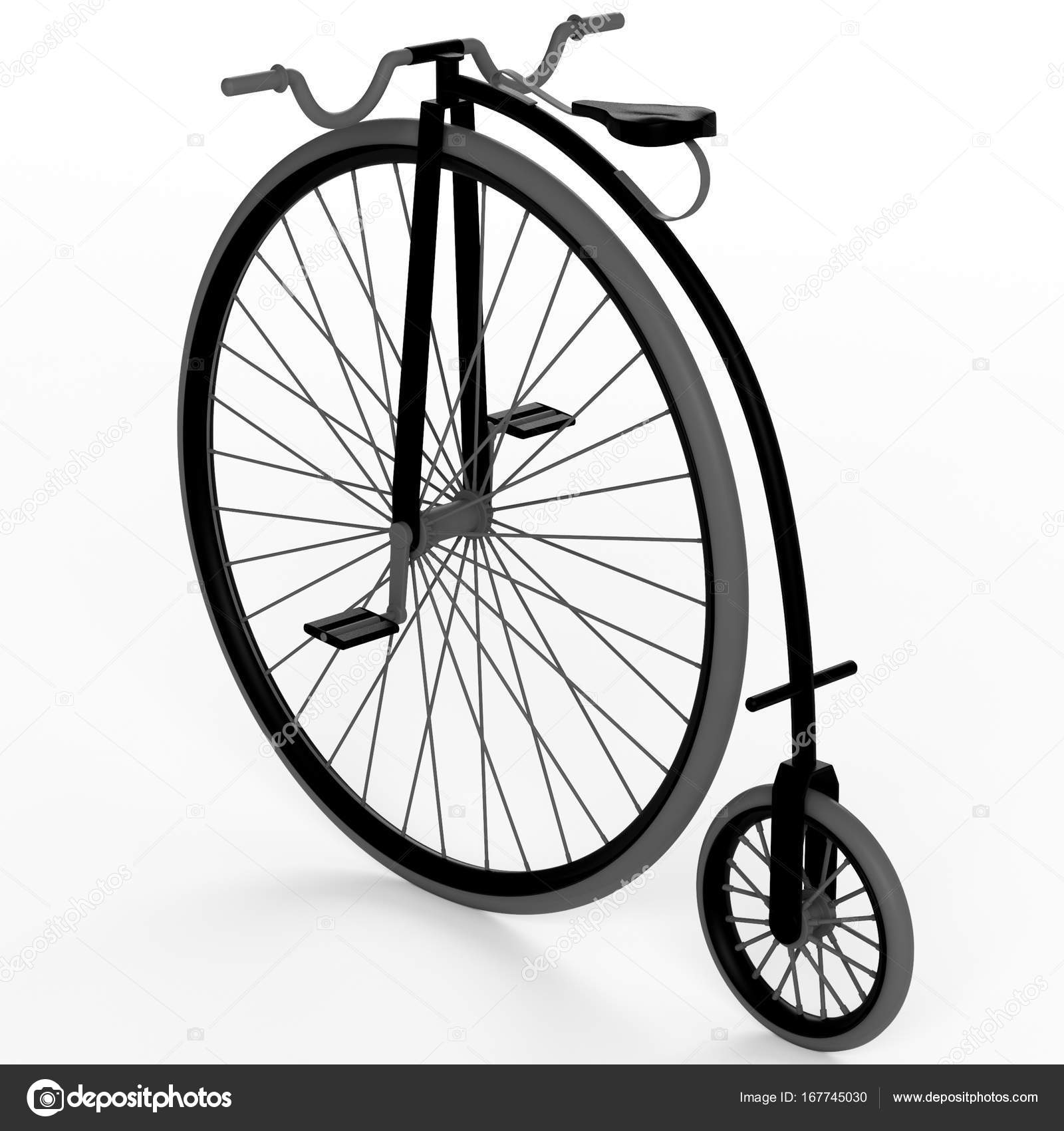 3d old bike — Stock Photo © lina0486 #167745030