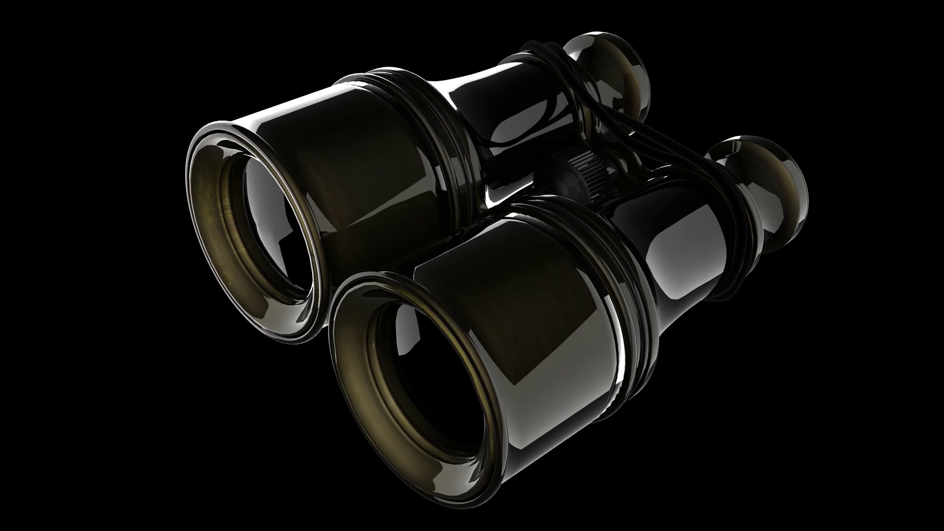 Old military binoculars. PNG plus Alpha channel Motion Background ...