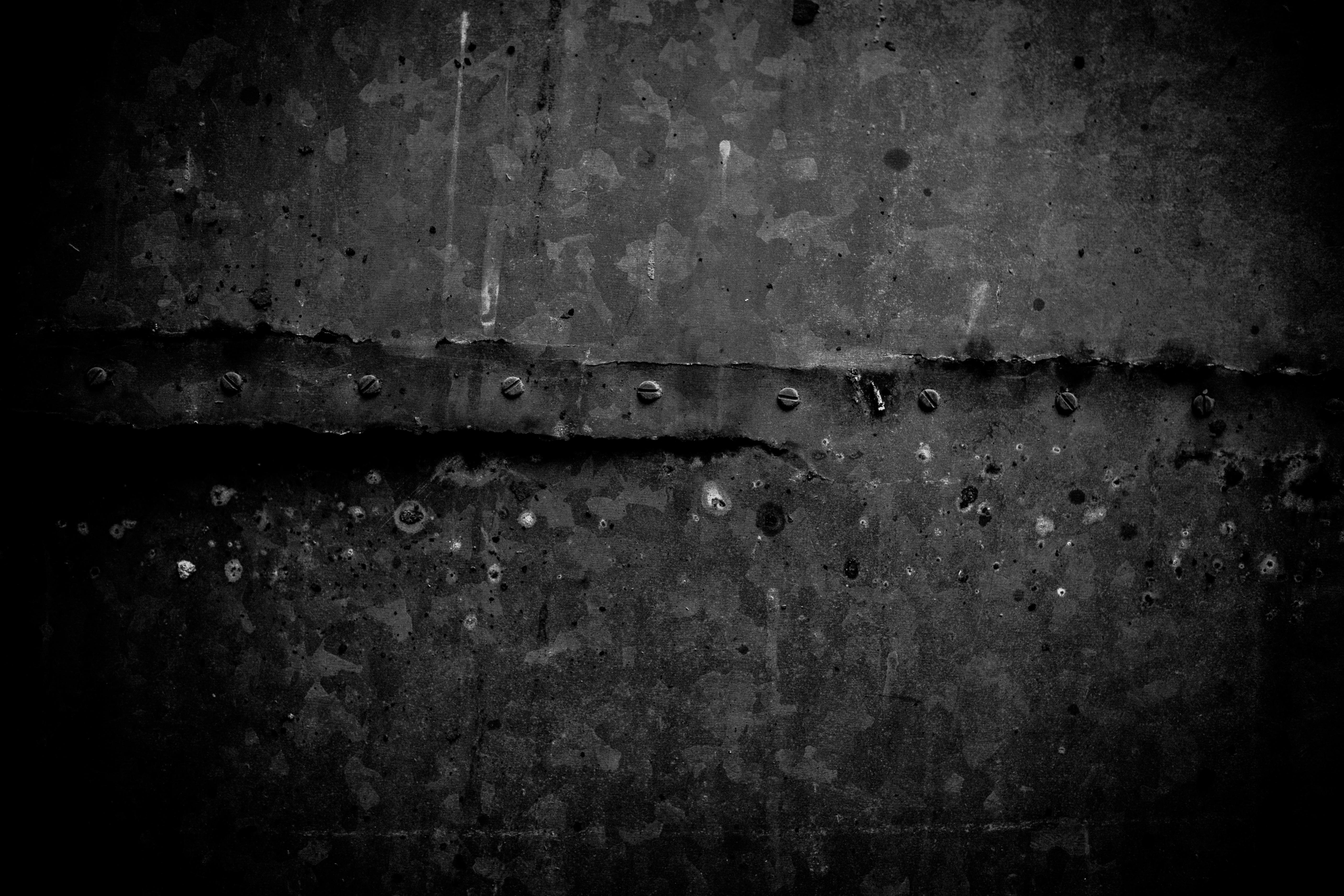 Old black metal texture photo