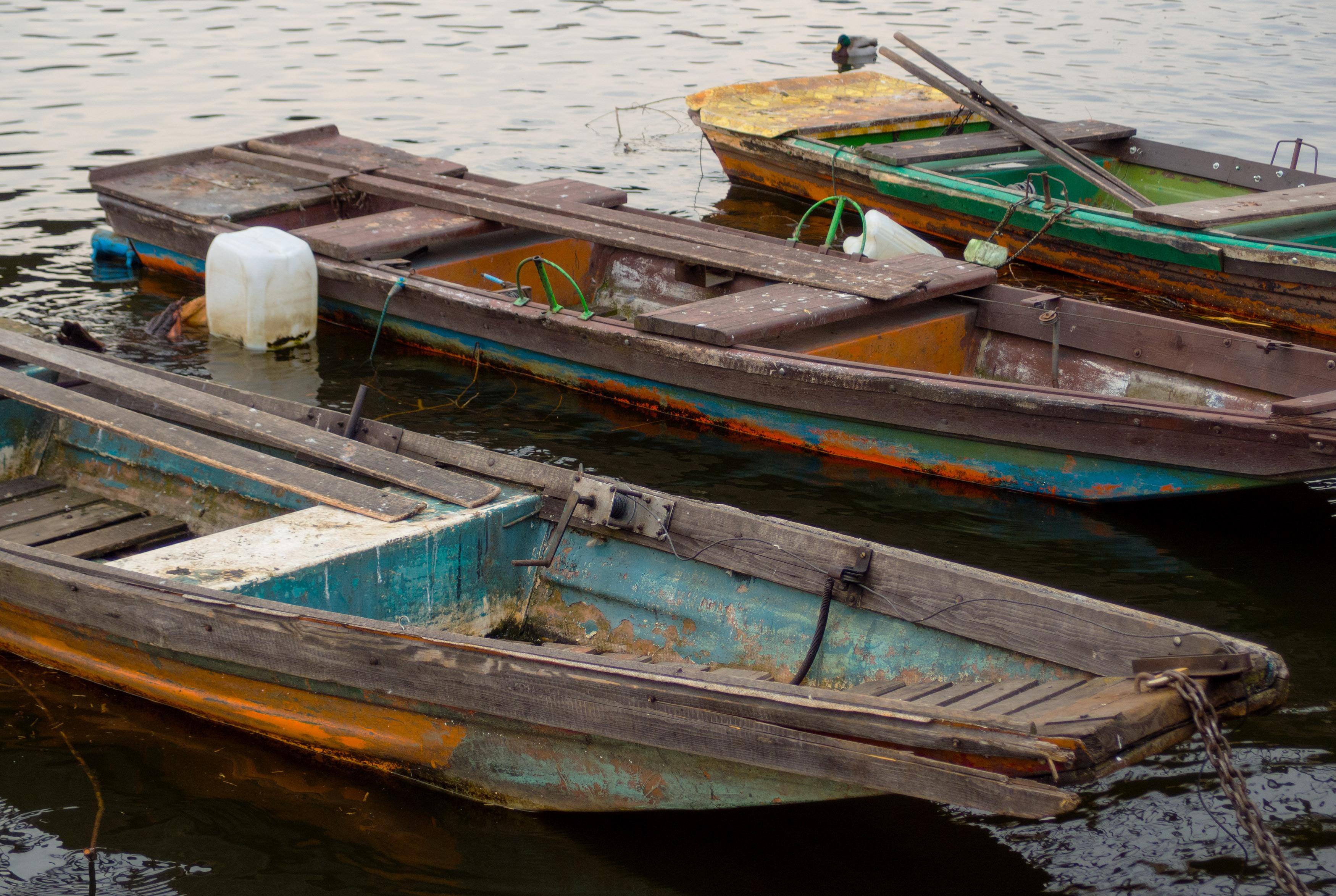 Free Image: Old Wooden Boats | Libreshot Public Domain Photos