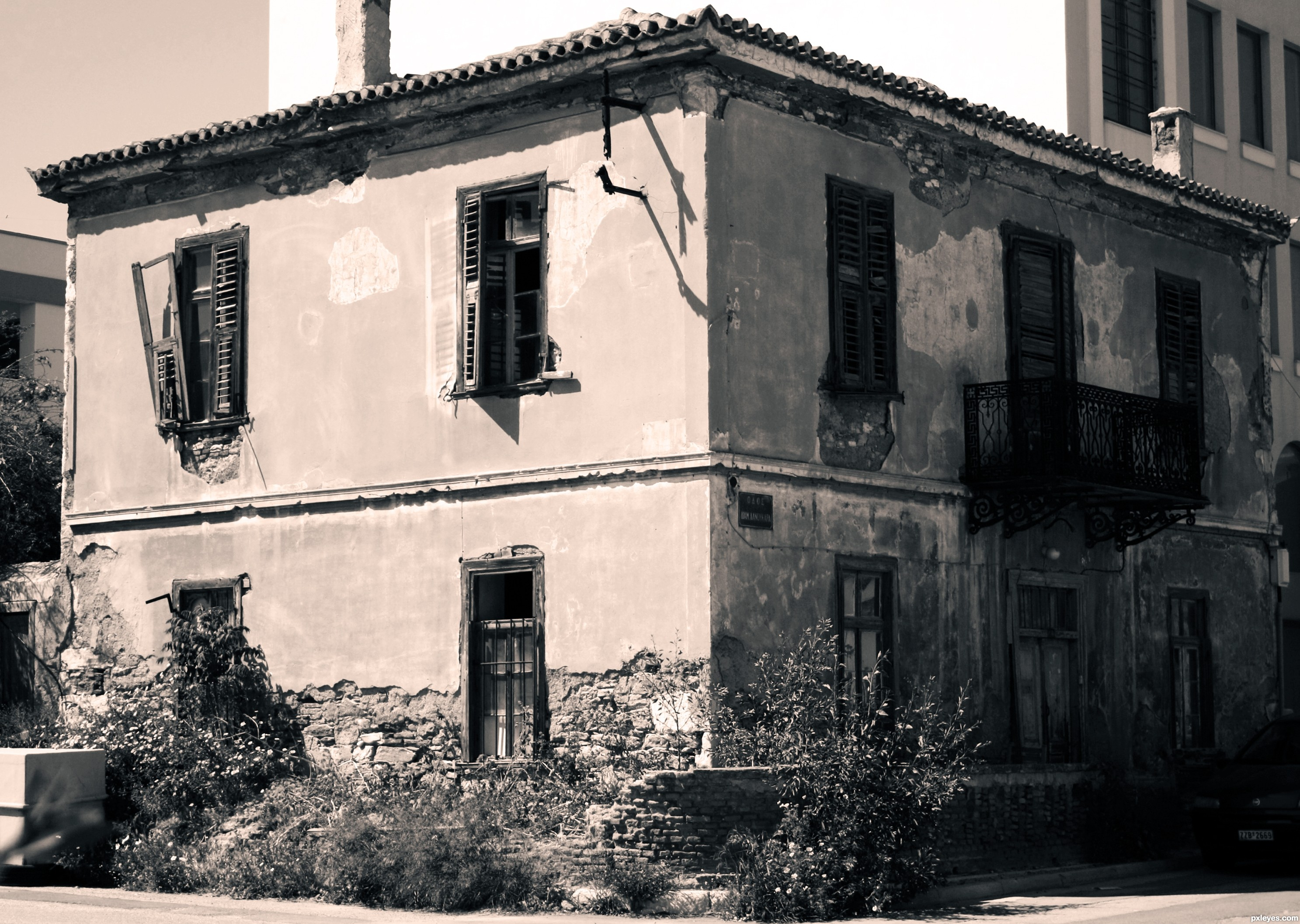 Old building picture, by jerostone for: sepia toning 3 photography ...