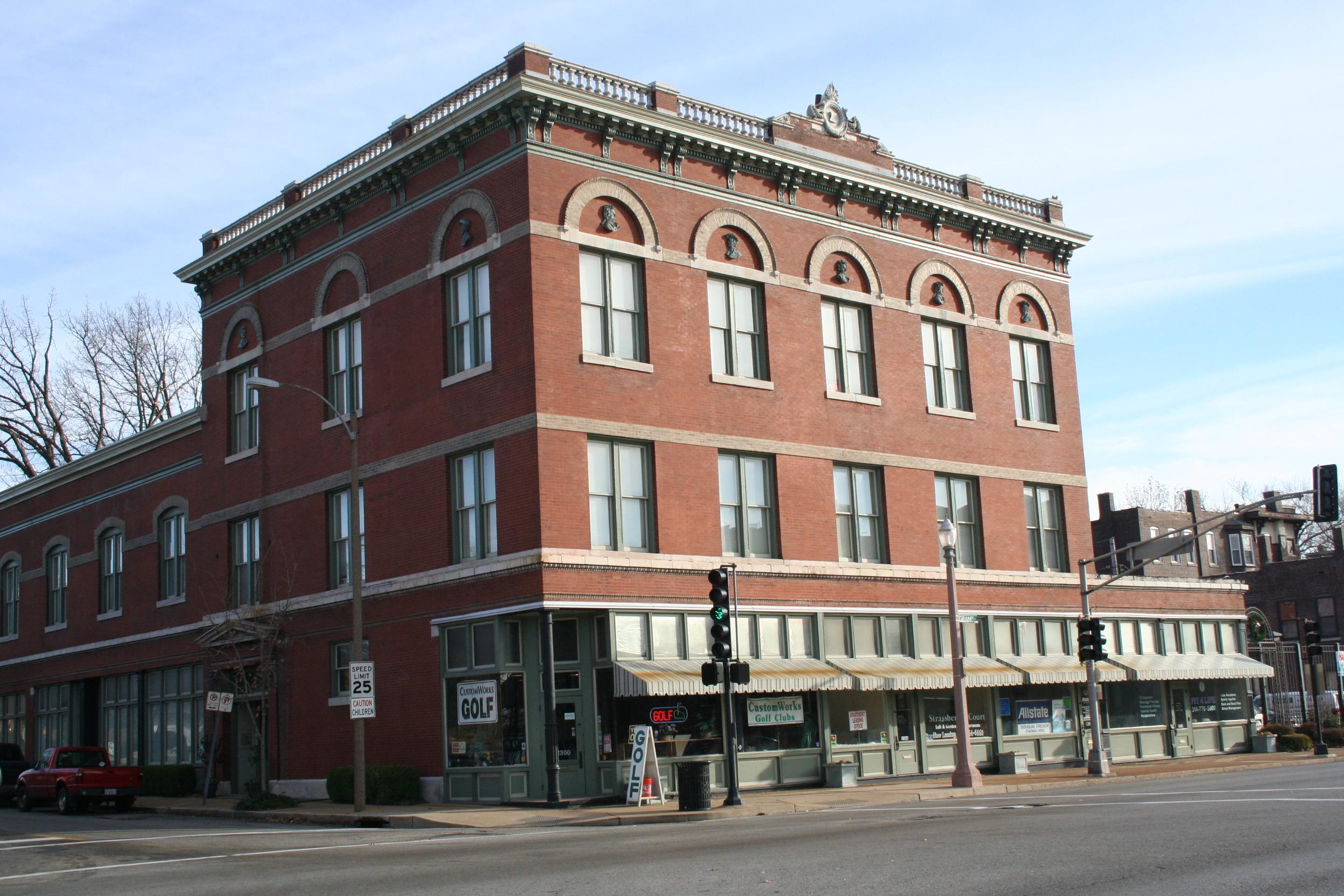 Old Strassberger Music Conservatory Building - City Landmark #83