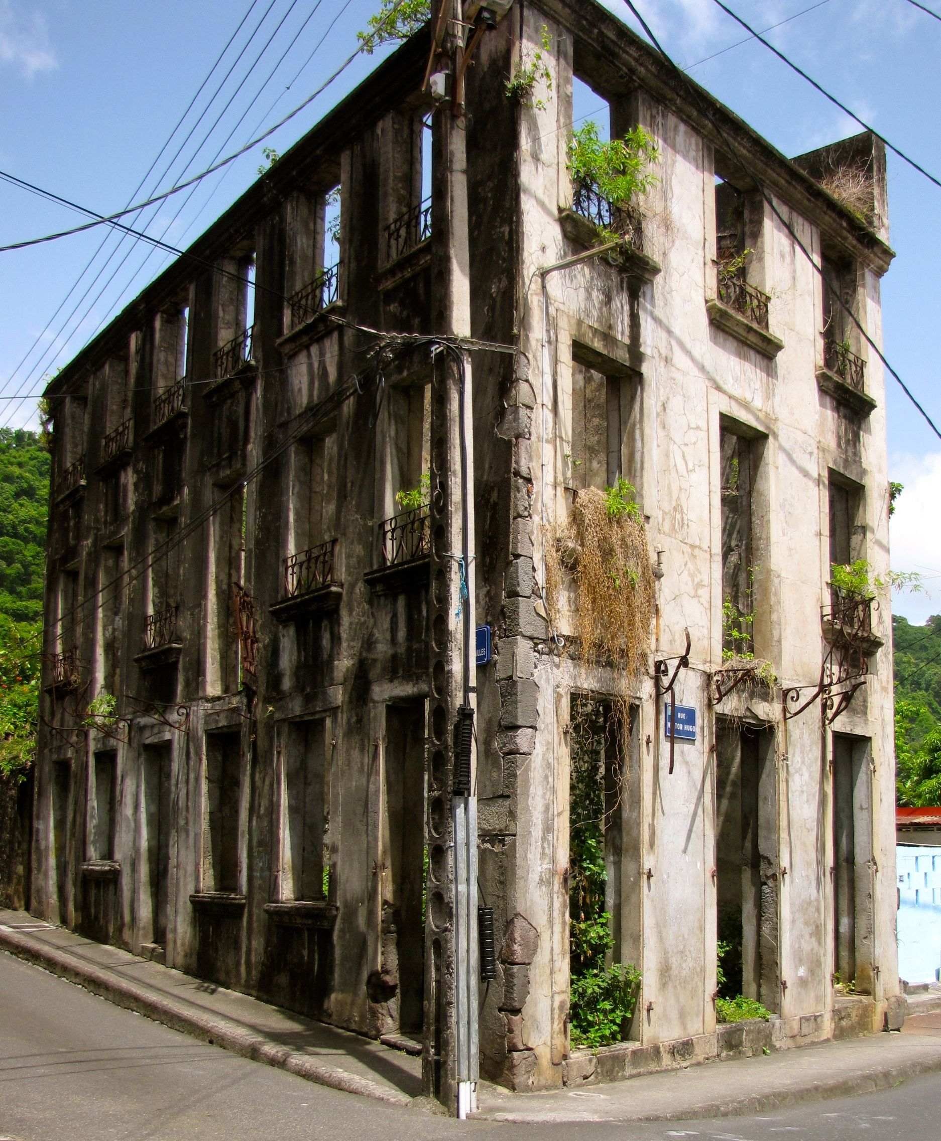old old buildings | Old Building – Martinique | Sail Beausoleil ...