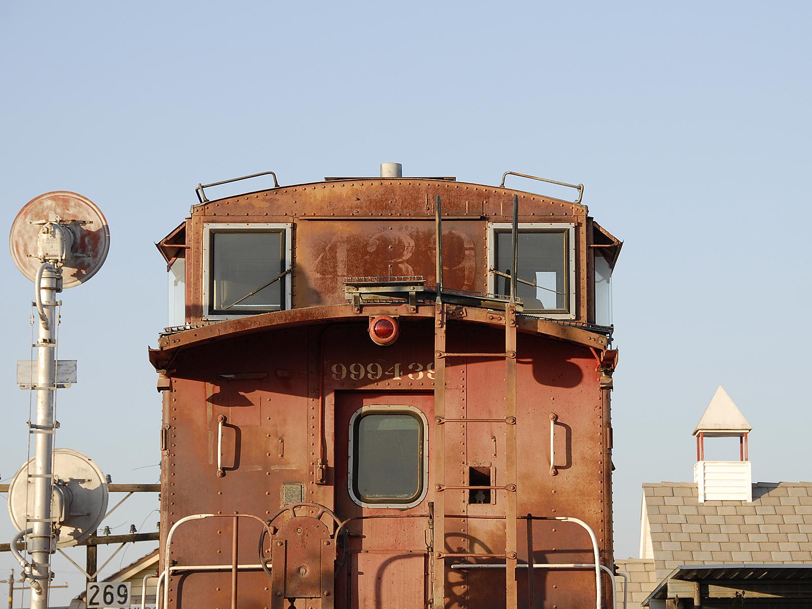 Old Caboose 439, Bspo06, Caboose, Engine, Rail, HQ Photo