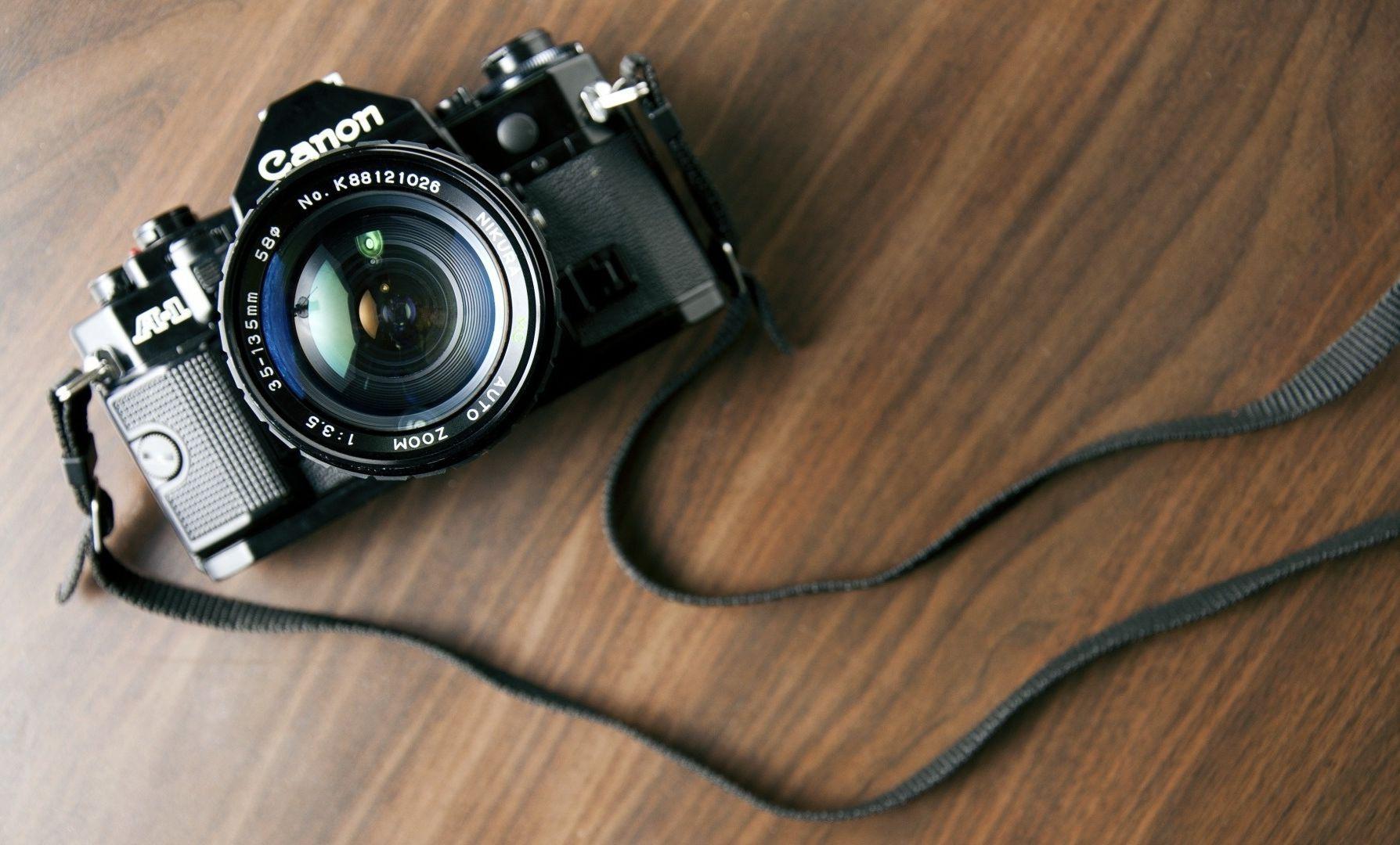 Old Canon A1 Camera wallpaper | Camera Love | Pinterest | Camera ...