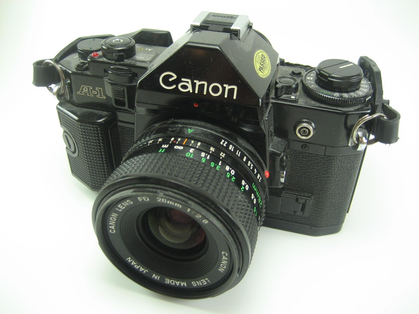 Six Balloons Vintage Delights: Vintage Canon A-1 SLR Manual Camera