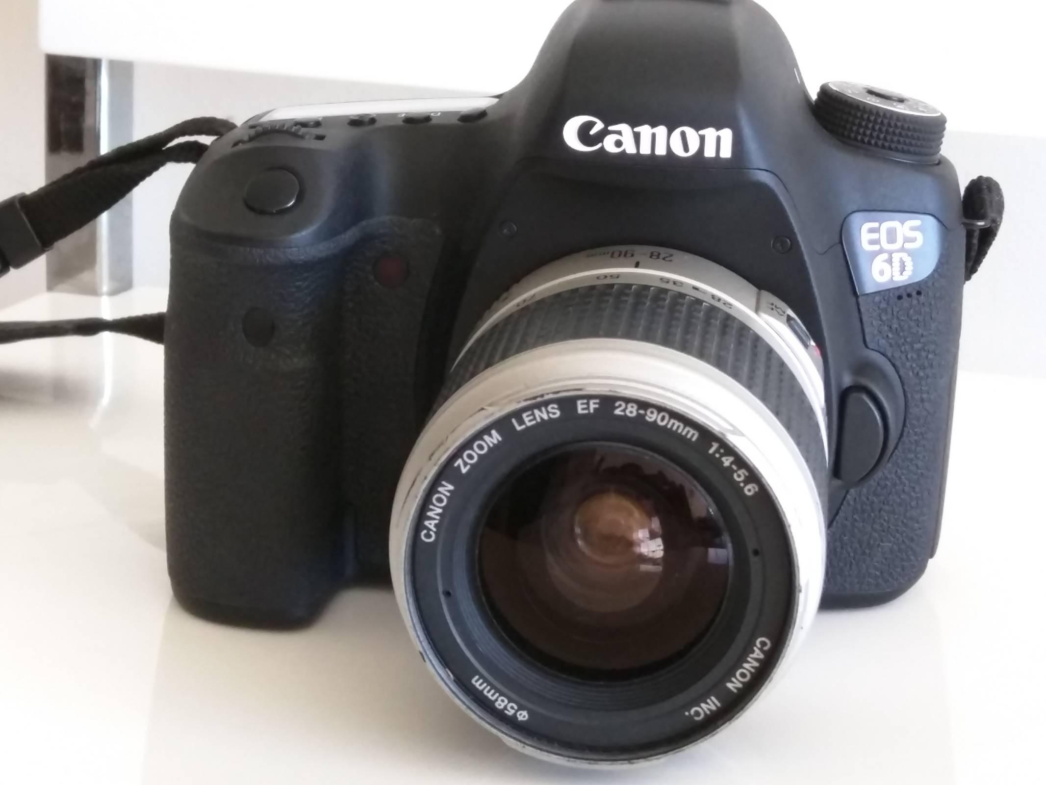Testing old lens Canon EF 28-90 1:4-5.6 | Photo Studio