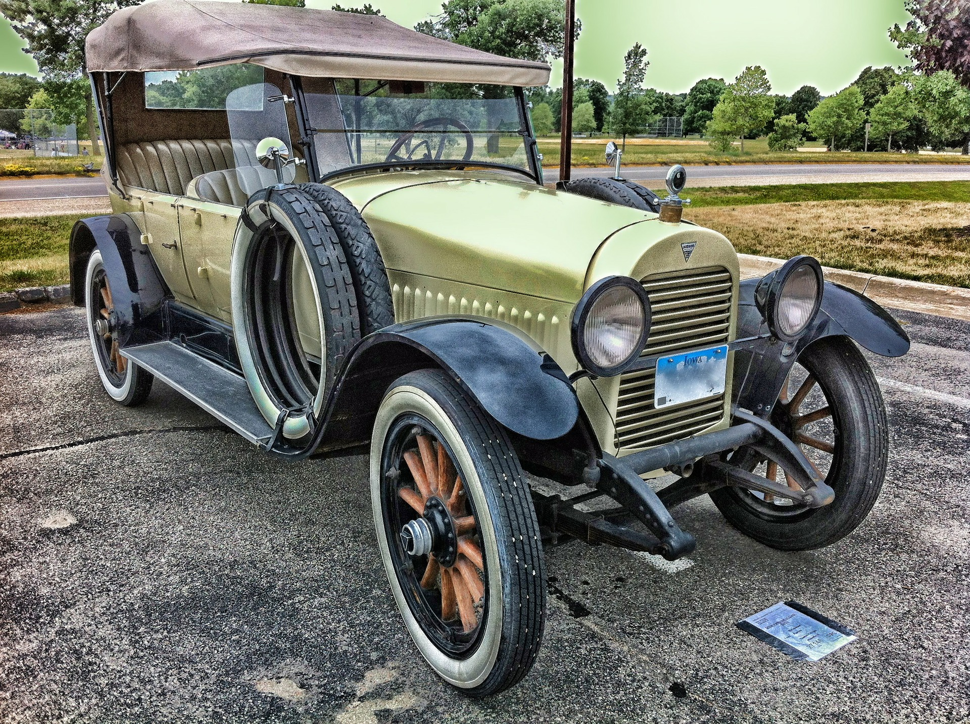 Free photo: Old Car - old, ride, hudson - Creative Commons - CC0 ...