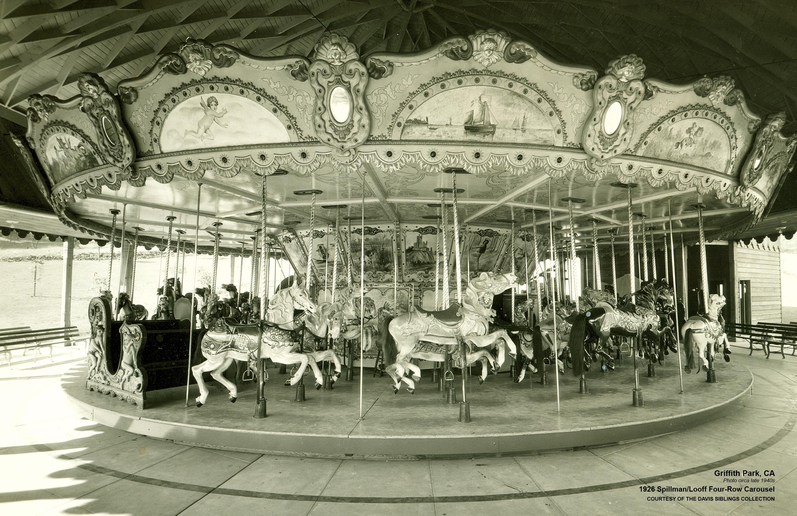 Griffith Park Merry-Go-Round -CarouselHistory.com