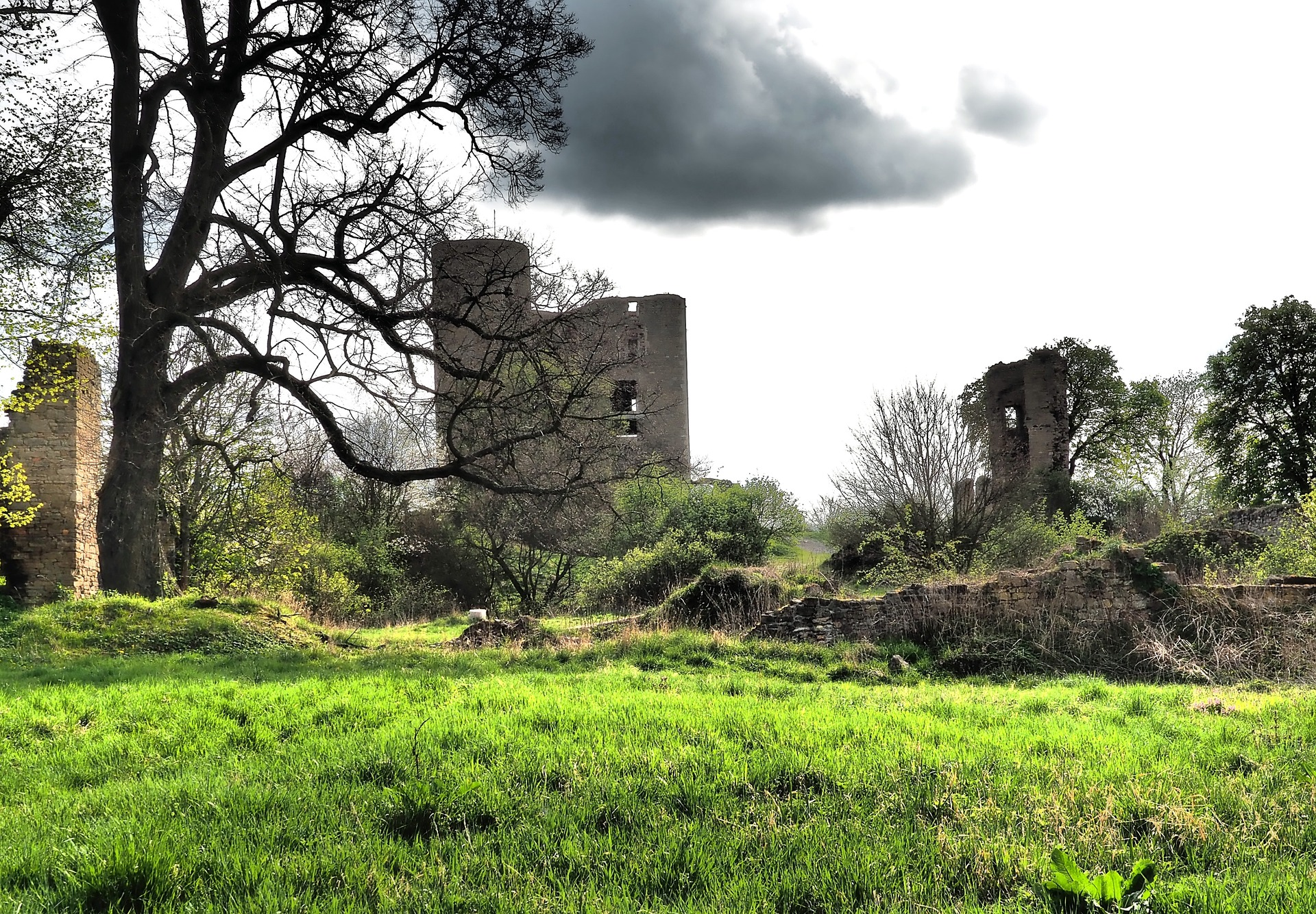 Old Castle Ruins, Abandoned, Architecture, Building, Castle, HQ Photo
