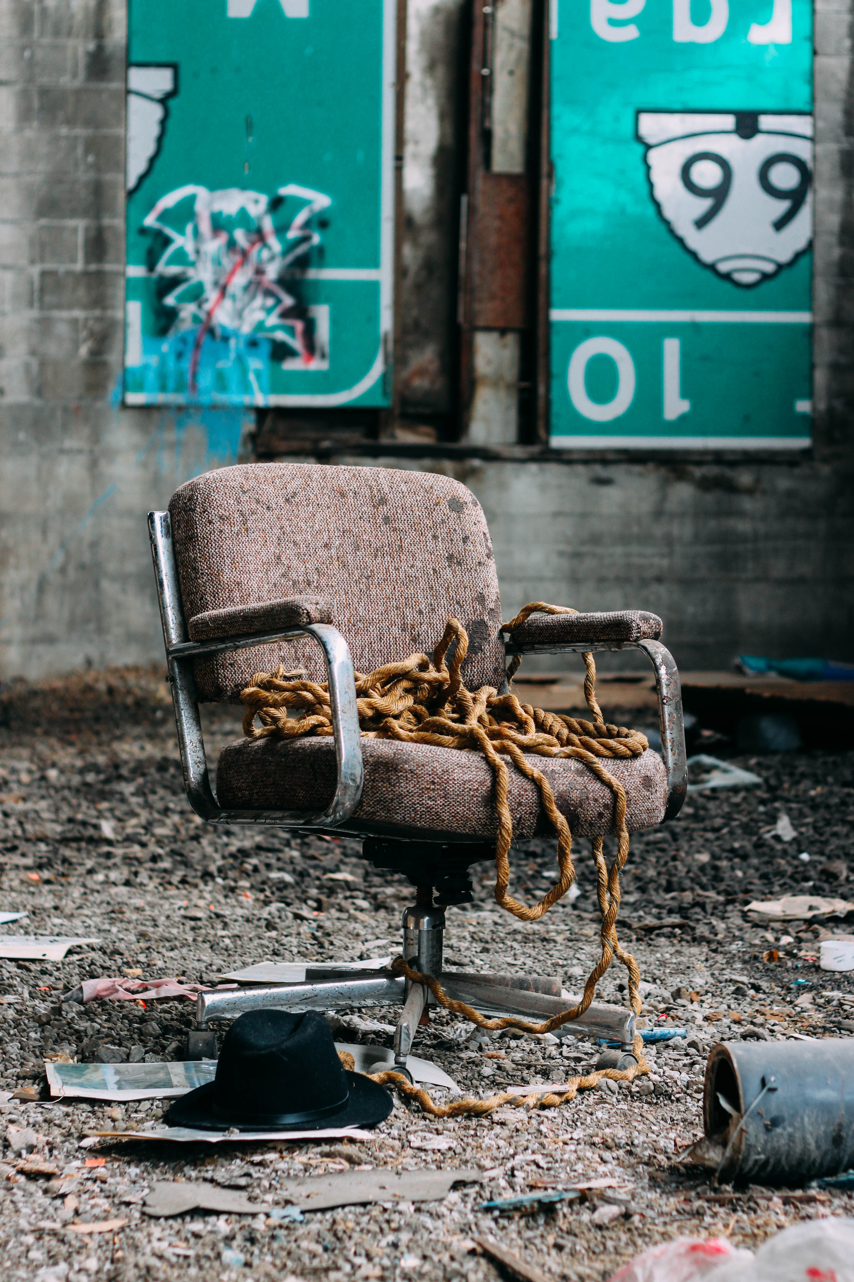 Old chair photo
