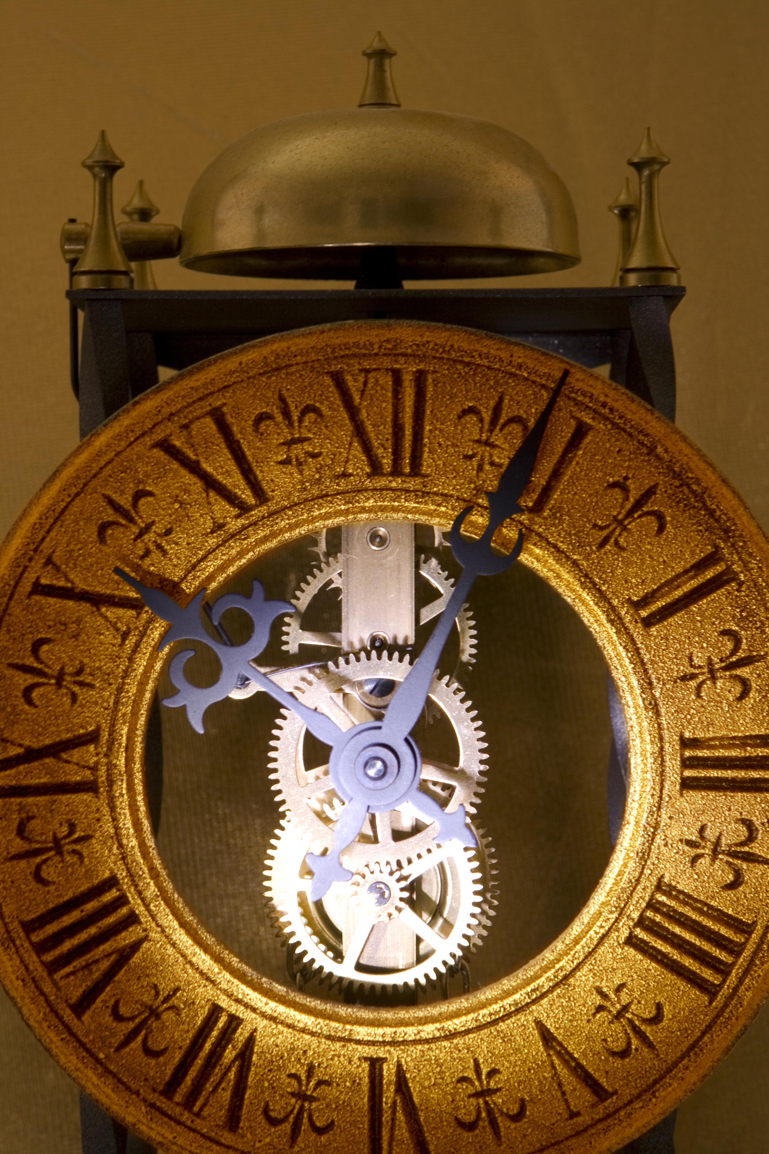 Old clock photo