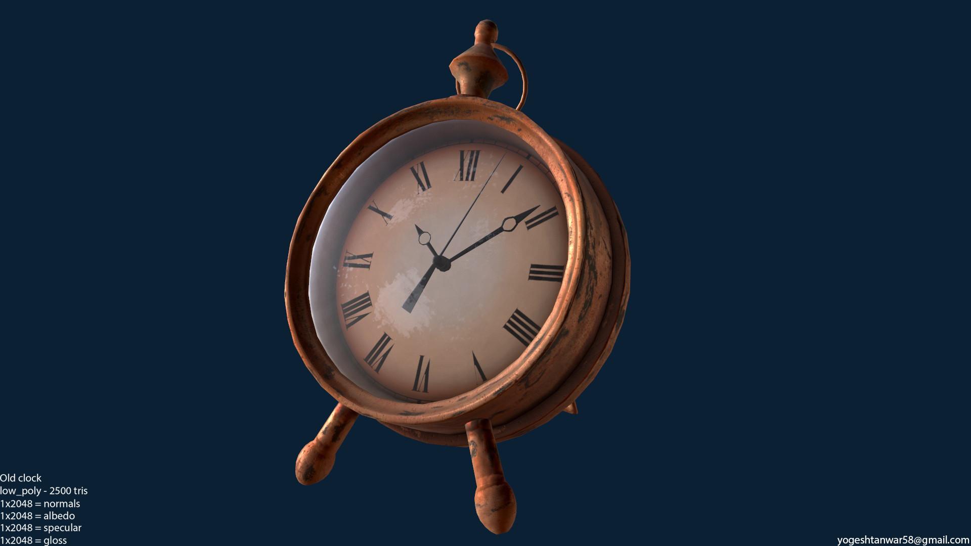 Yogesh Tanwar - old clock