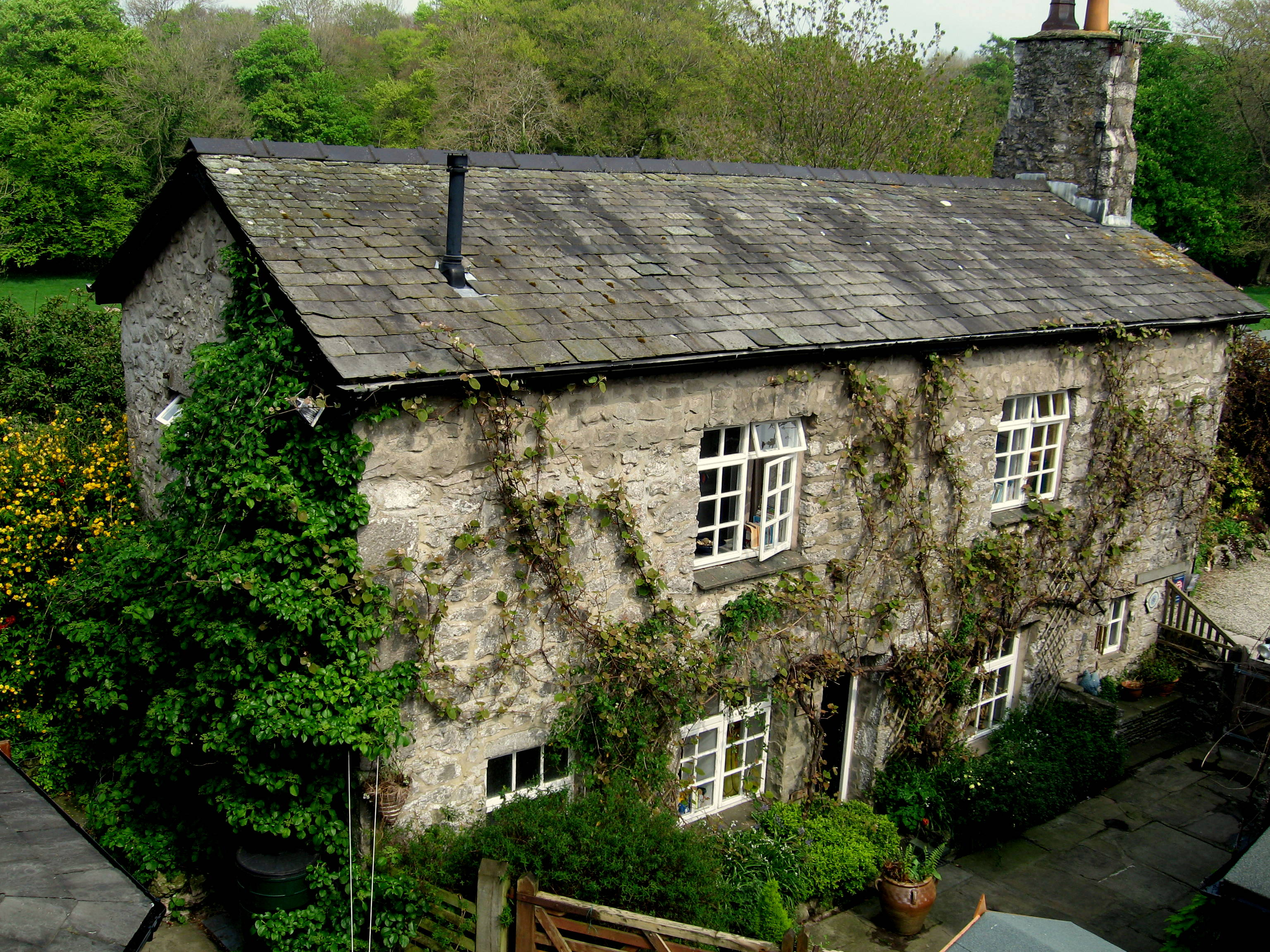 Old cottage photo