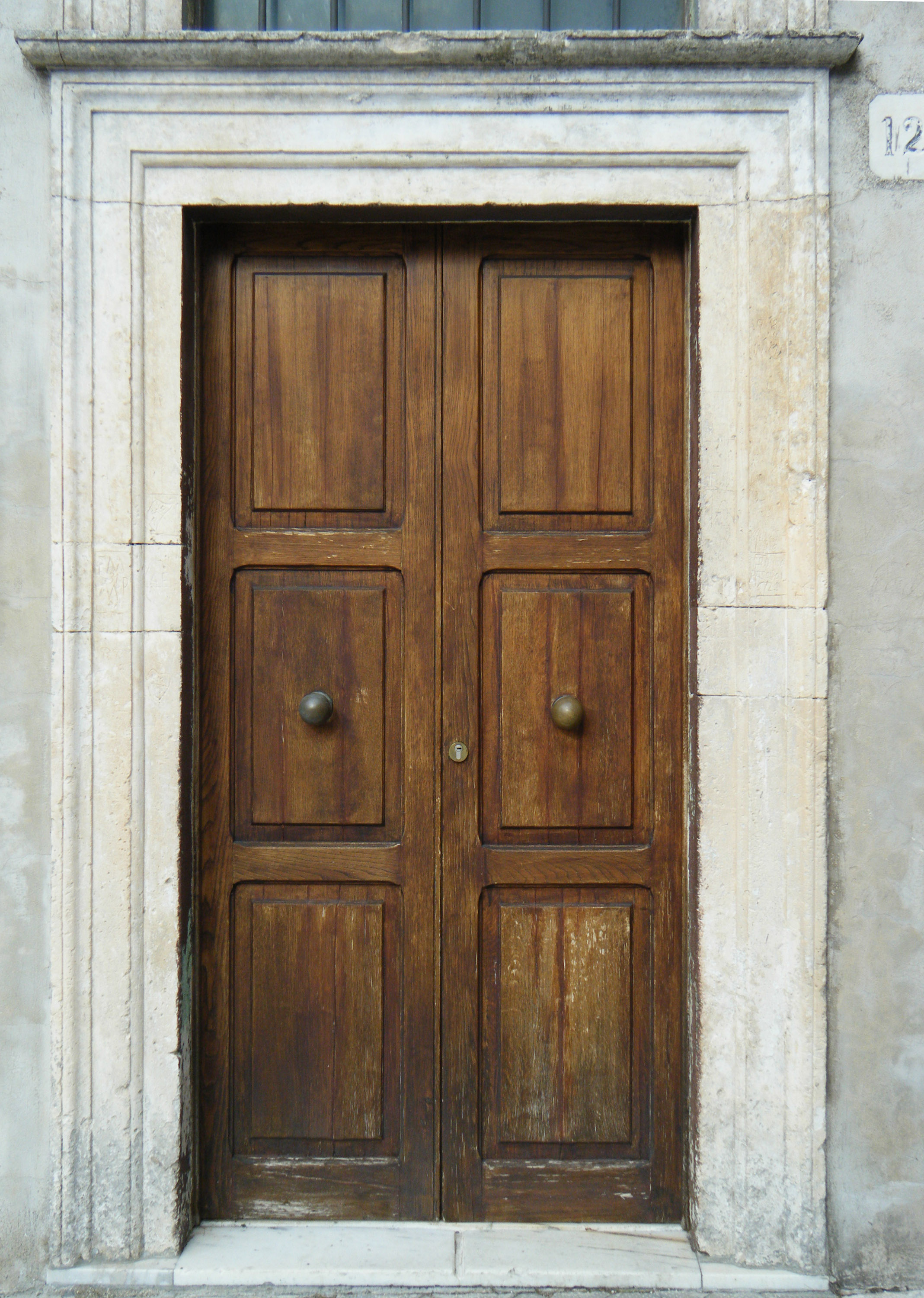 Texture - neoclassical wood door 14 - Neoclassical - luGher Texture ...