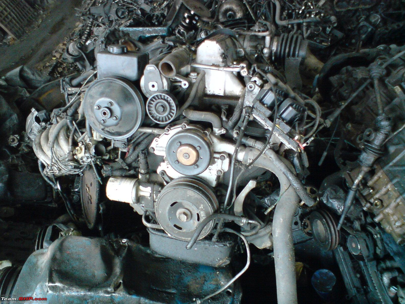 Engine Graveyard - Where old engines go to die.. - Team-BHP