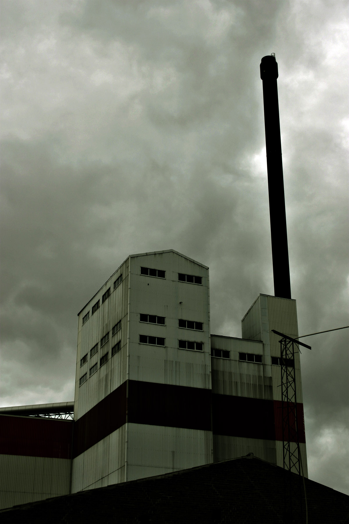 Old Factory, Aalborg, Dark, Denmark, Dimm, HQ Photo