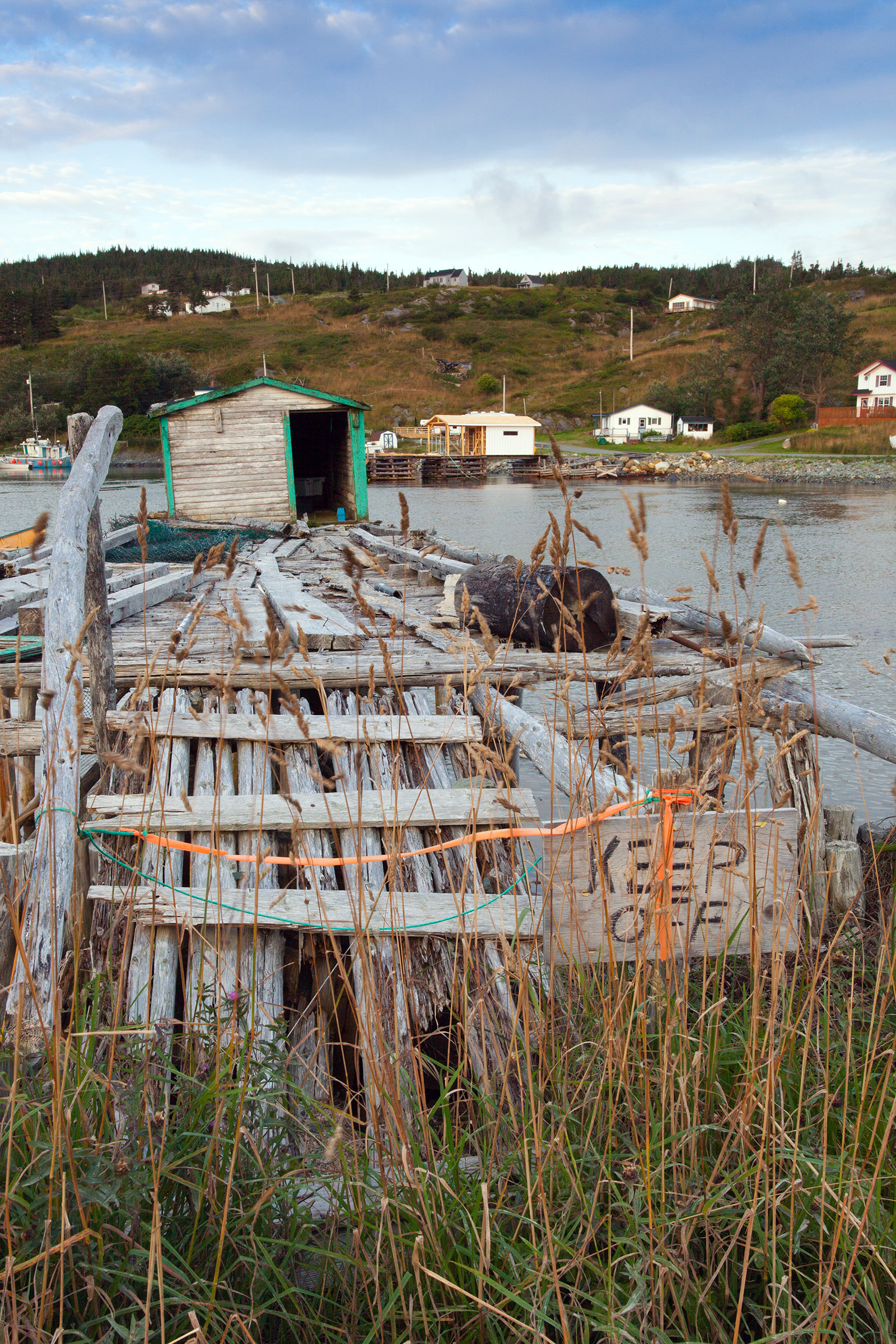 Old fishing stage photo