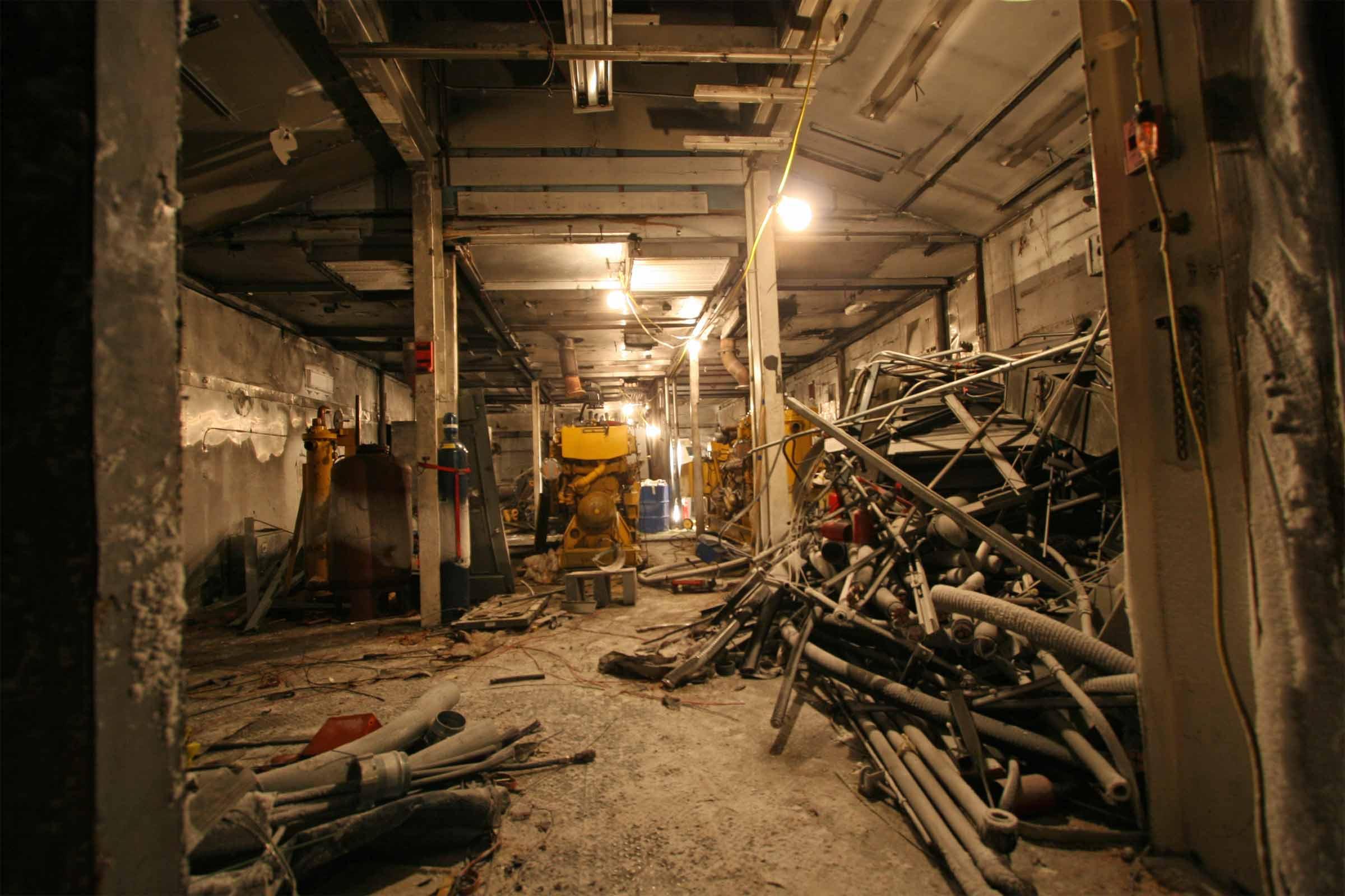 2007 Winter Photos - Power Plant/Garage Demo