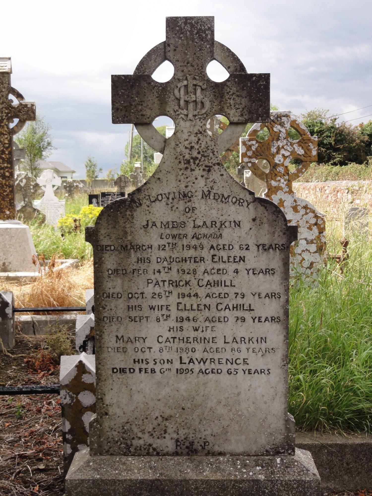 James Larkin Grave   Aghada Old , CO-AGDO-143