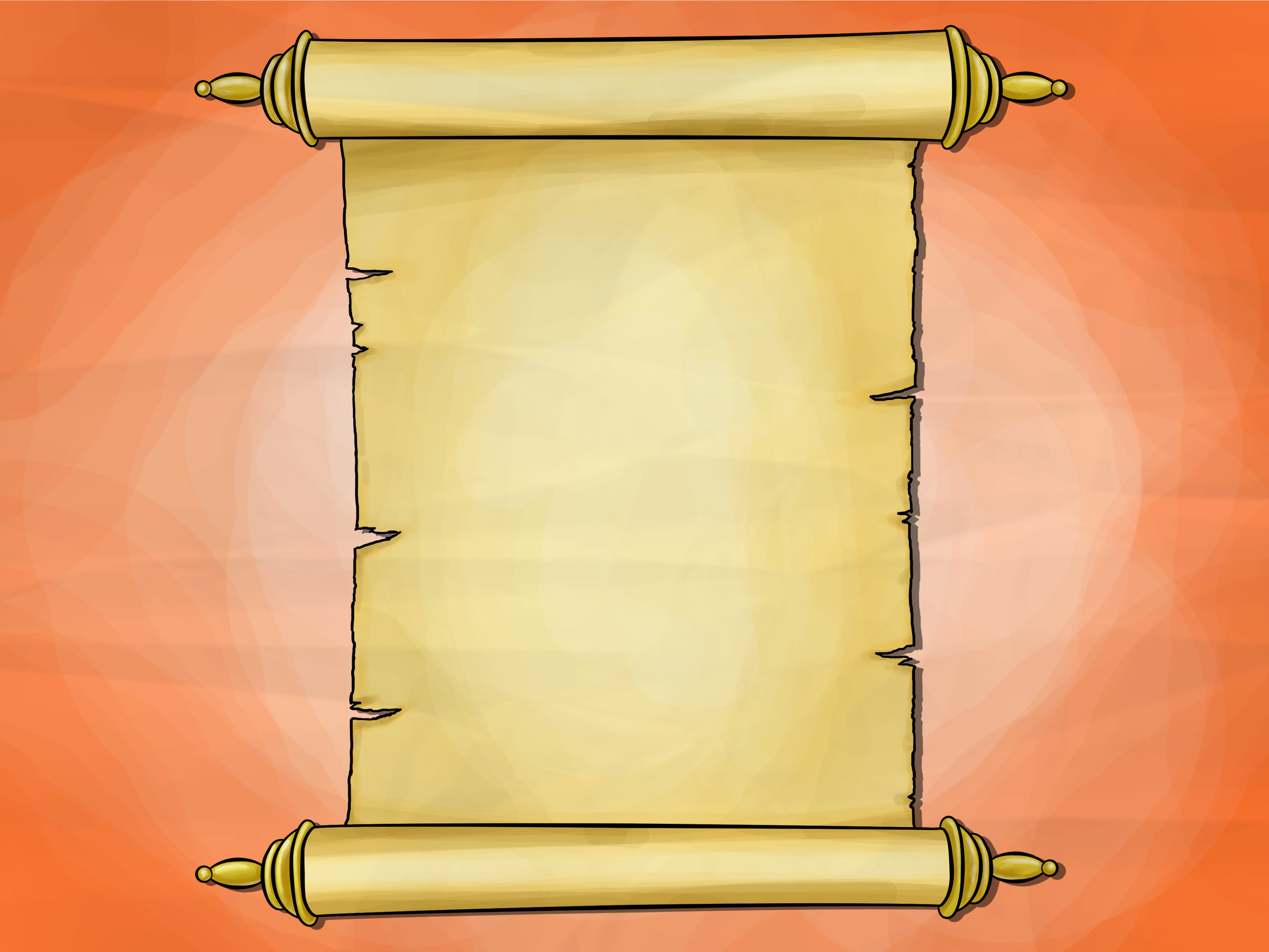 How to Draw a Scroll: 6 Steps (with Pictures) - wikiHow