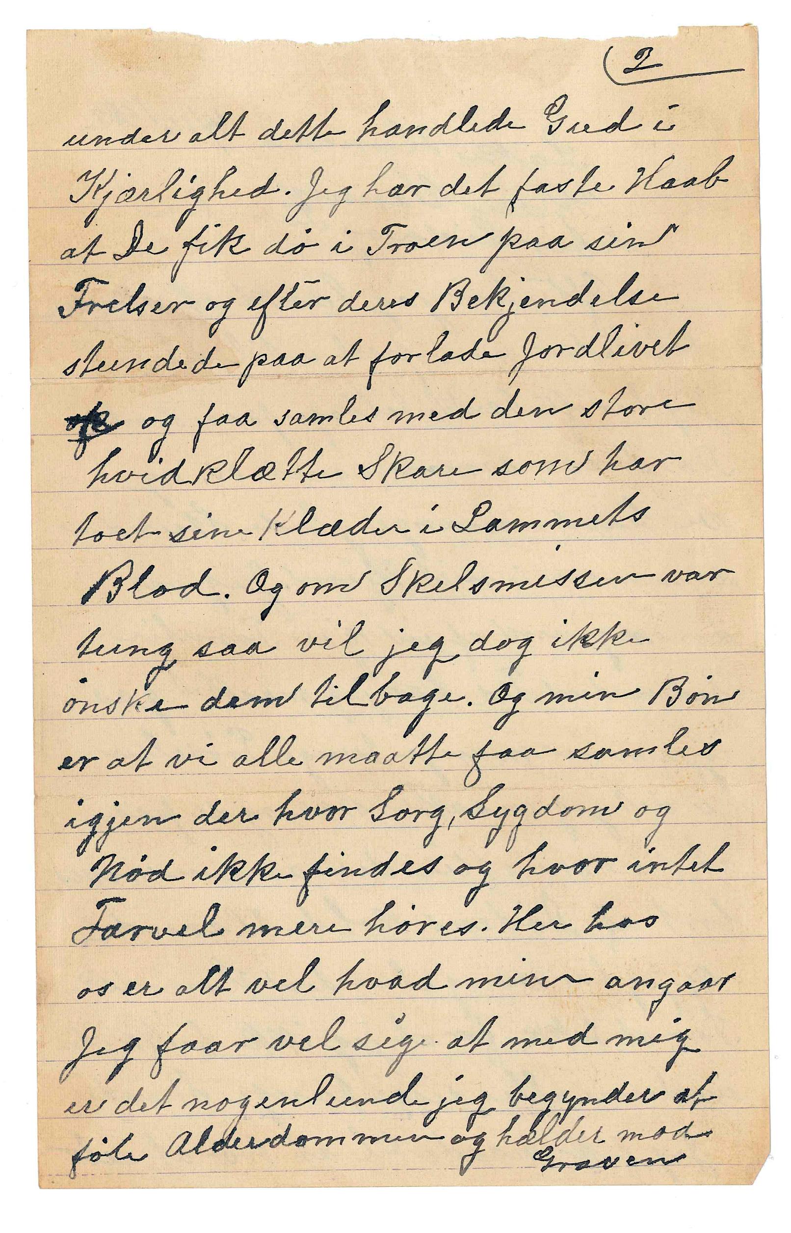 An ancestor's hundred-year-old letters in Norwegian... - Album on Imgur