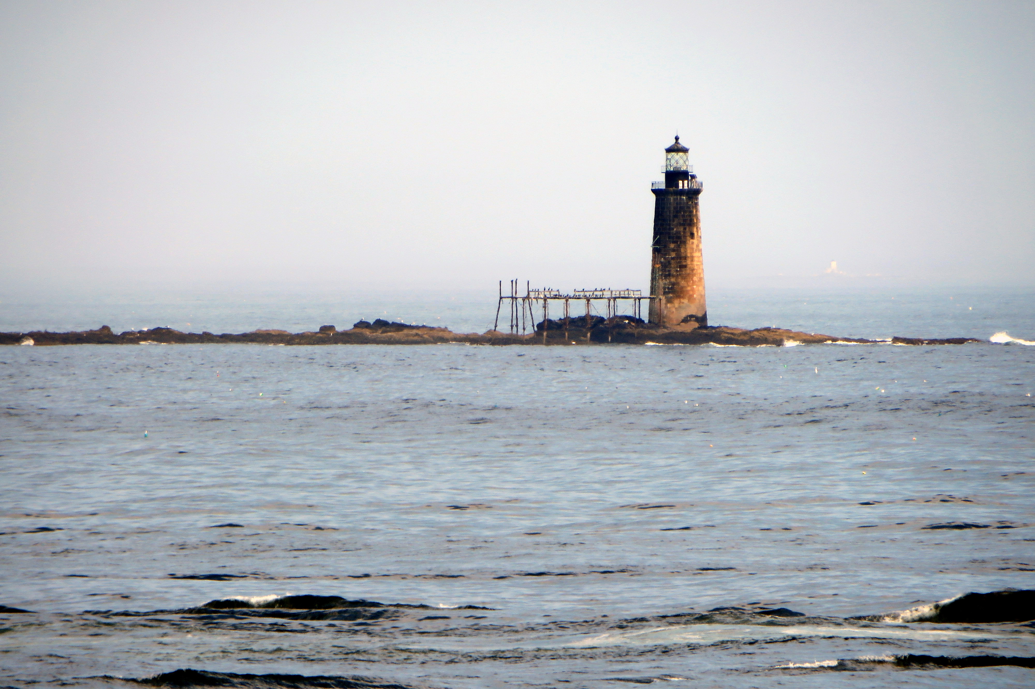 Old lighthouse - fort williams park - cape elizabeth, maine photo