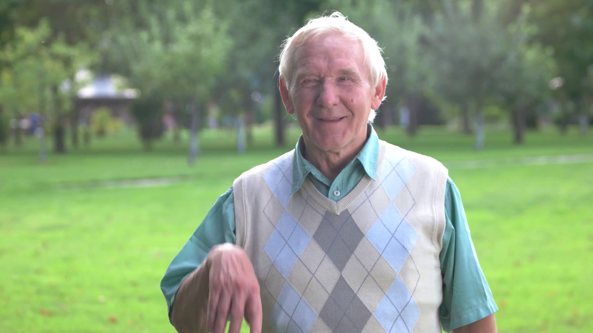 Funny Old Man Laughing Stock Video Footage - Videoblocks