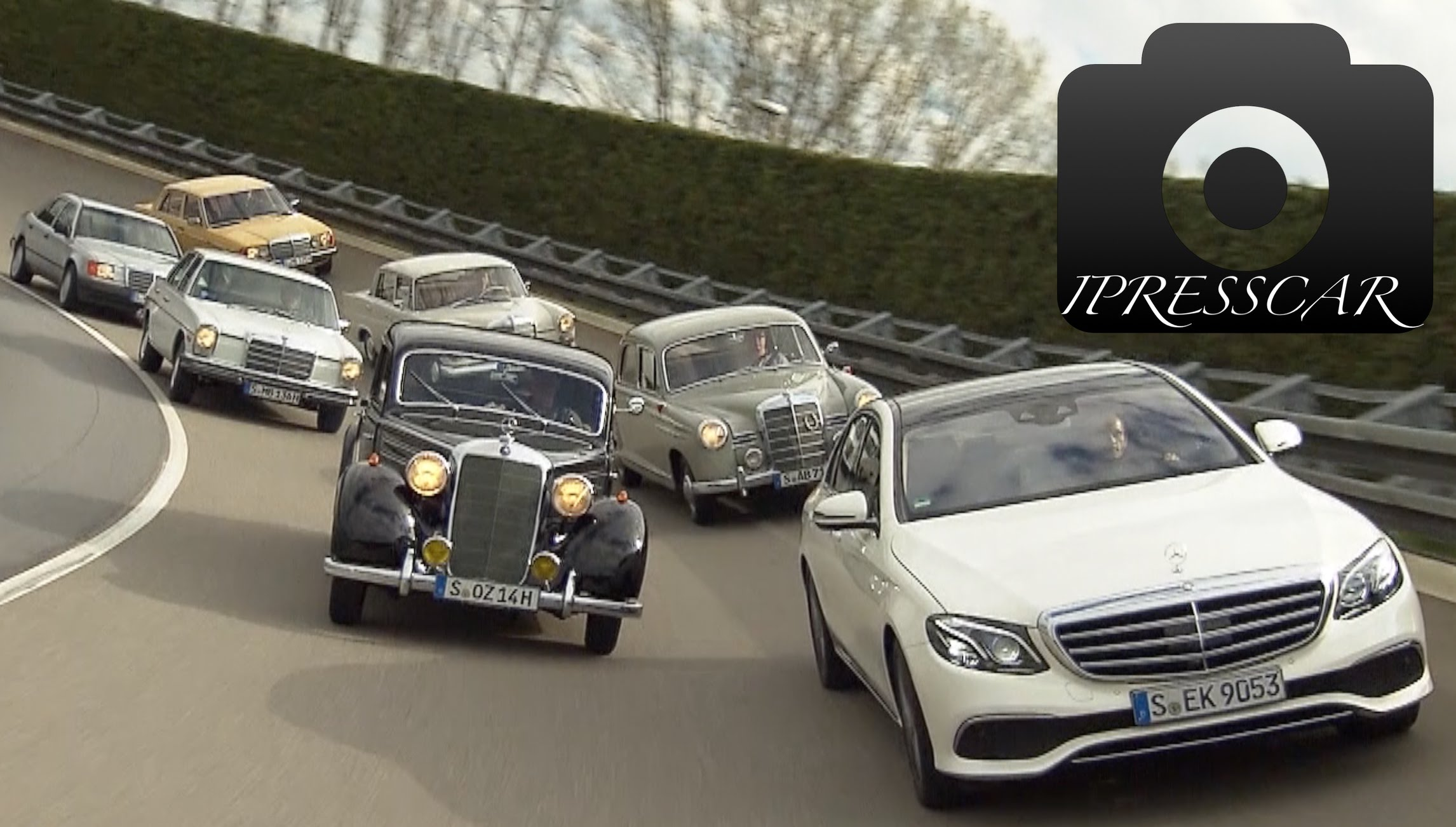 Classic Insight Mercedes-Benz E-Class - old and new generation - YouTube