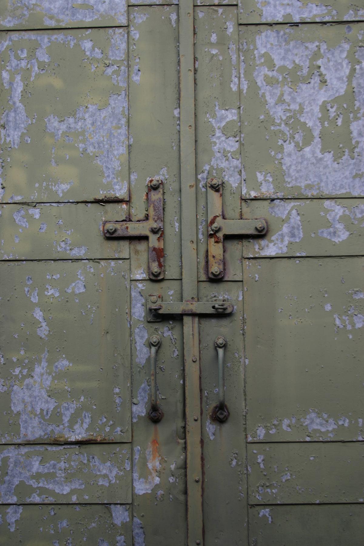 Free Photo: Old Metal Door   Steel, Peeling, Surface   Free ...