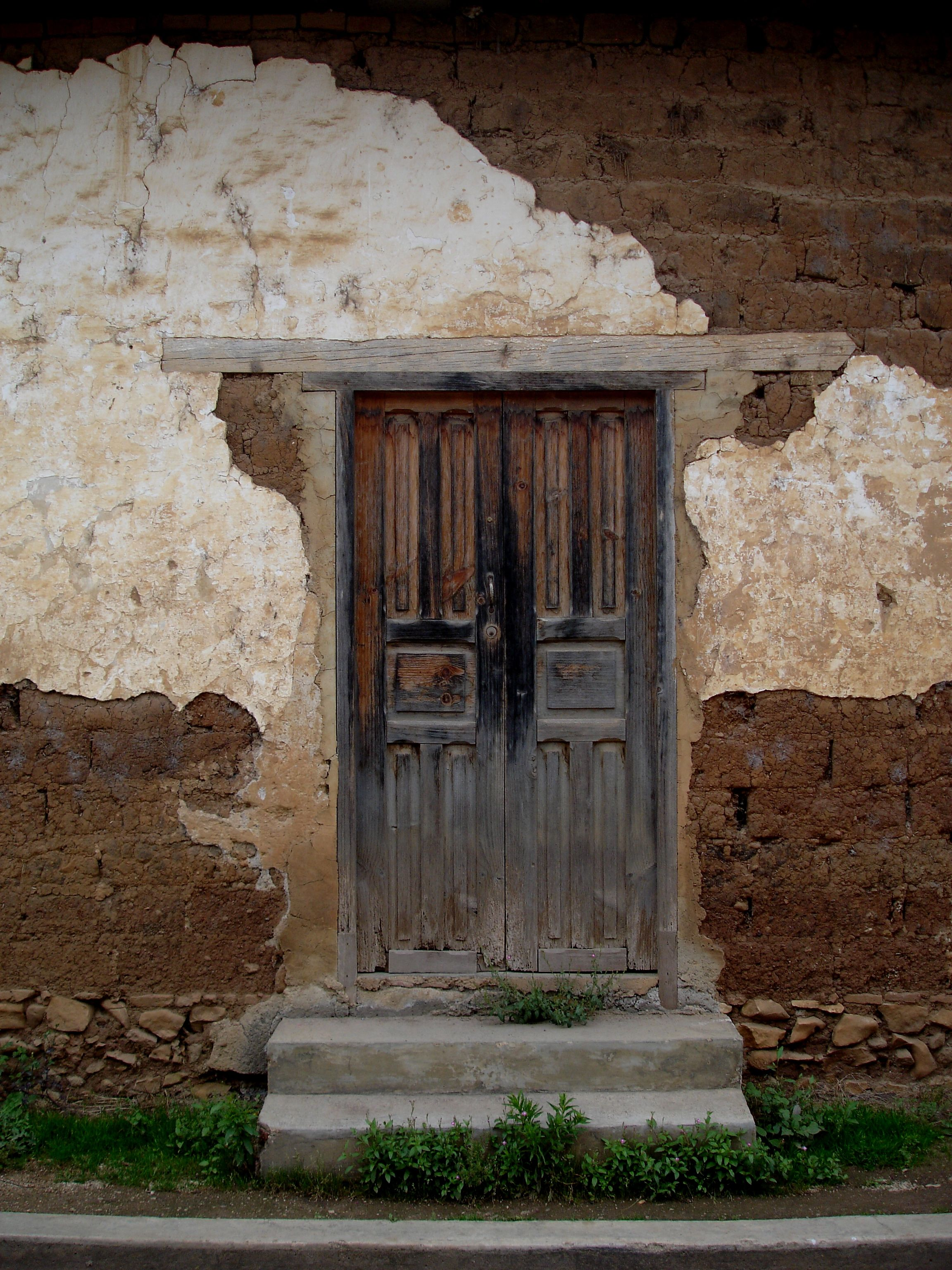 Old mexican door photo