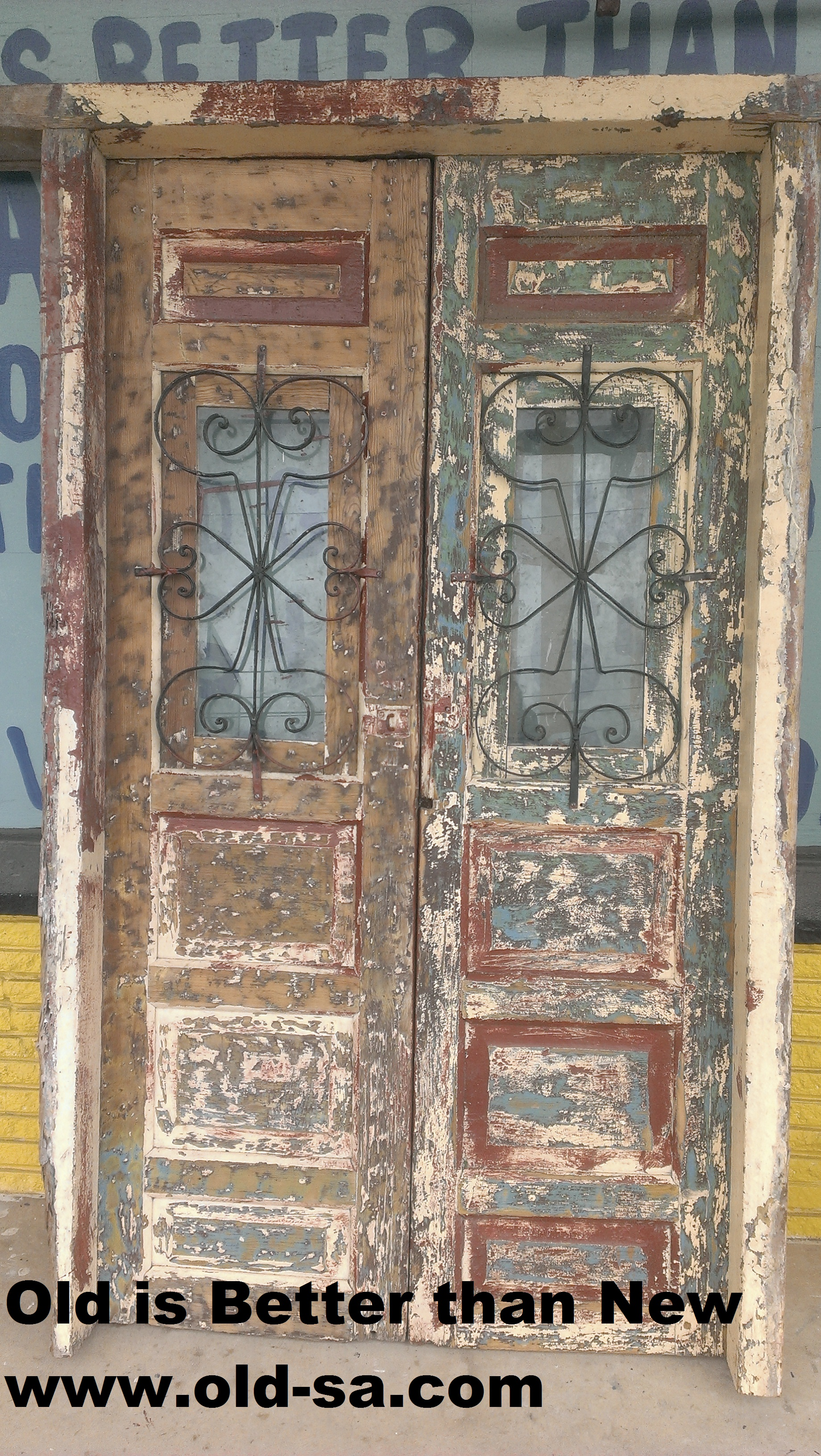 Vintage Colonial Mexican door for SALE. Great for Barn sliding doors ...