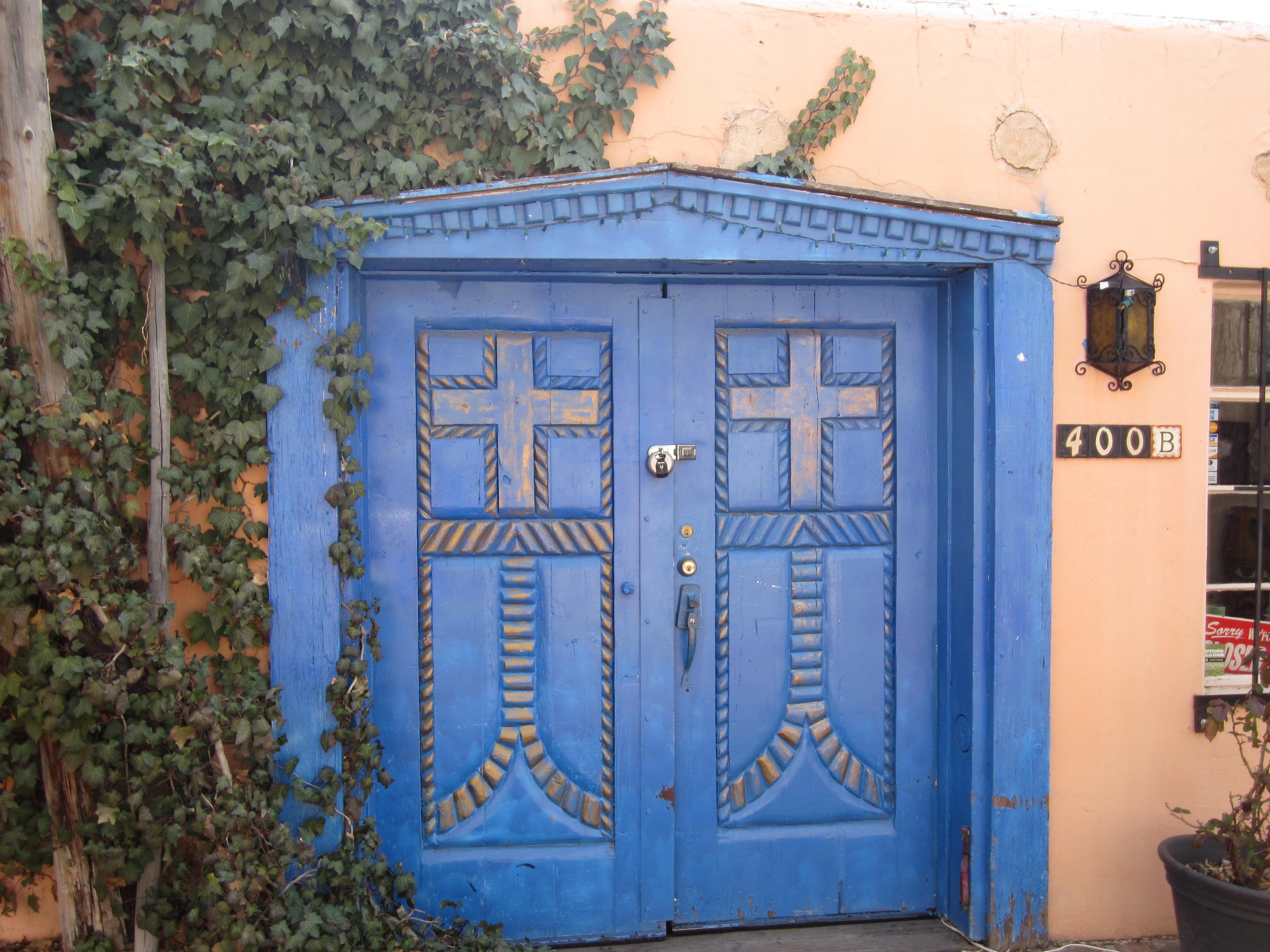 New Mexican door | the thirdeyeworld