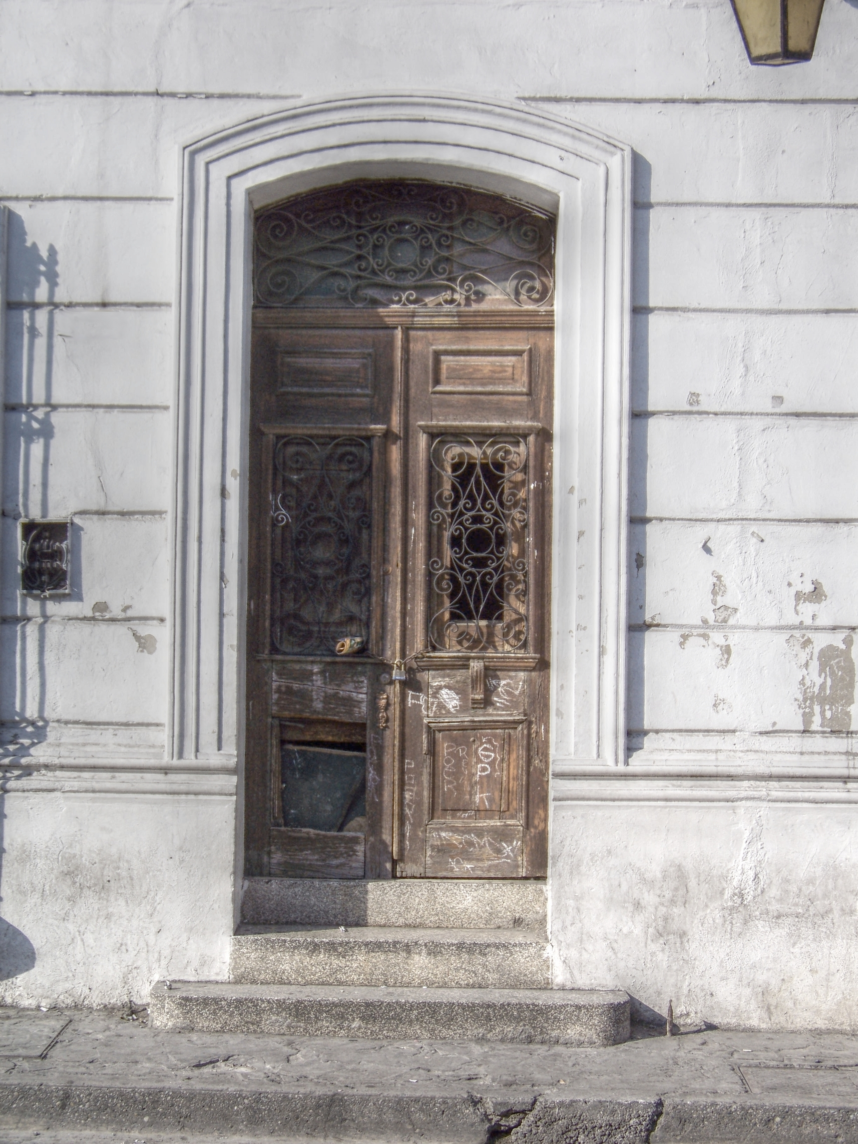 Old Mexican door & Free photo: Old Mexican door - mexico old outdoor - Non-Commercial ...