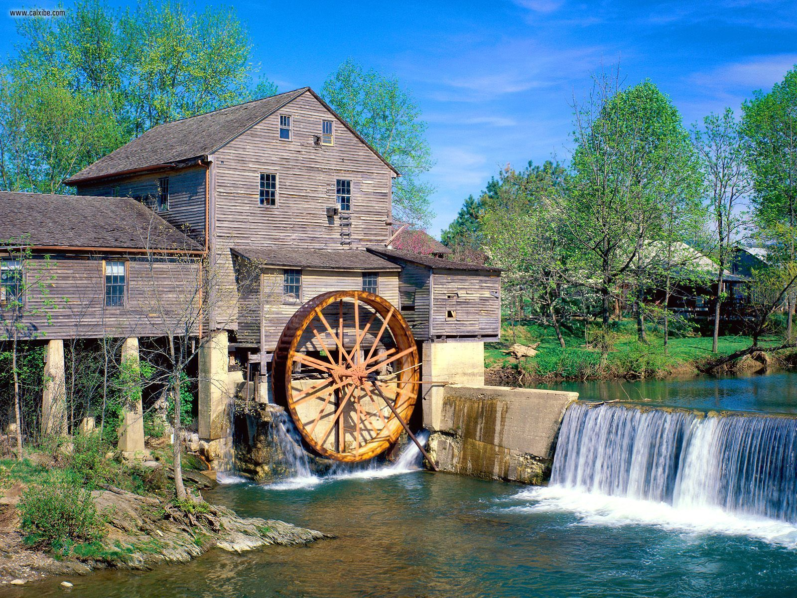 Old mill photo