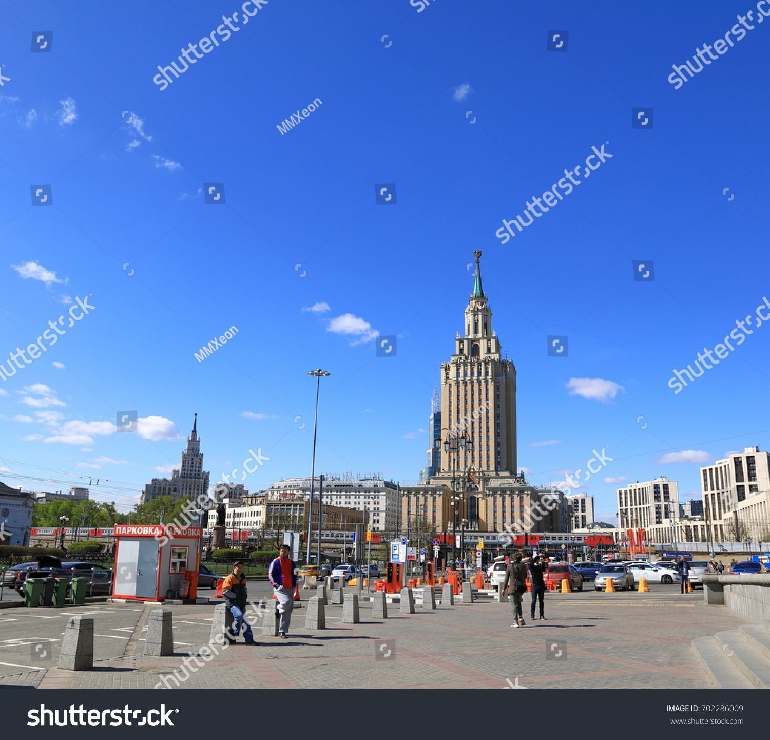 Moscow Russia May 2017 Moscow Stalin Stock Photo (Royalty Free ...