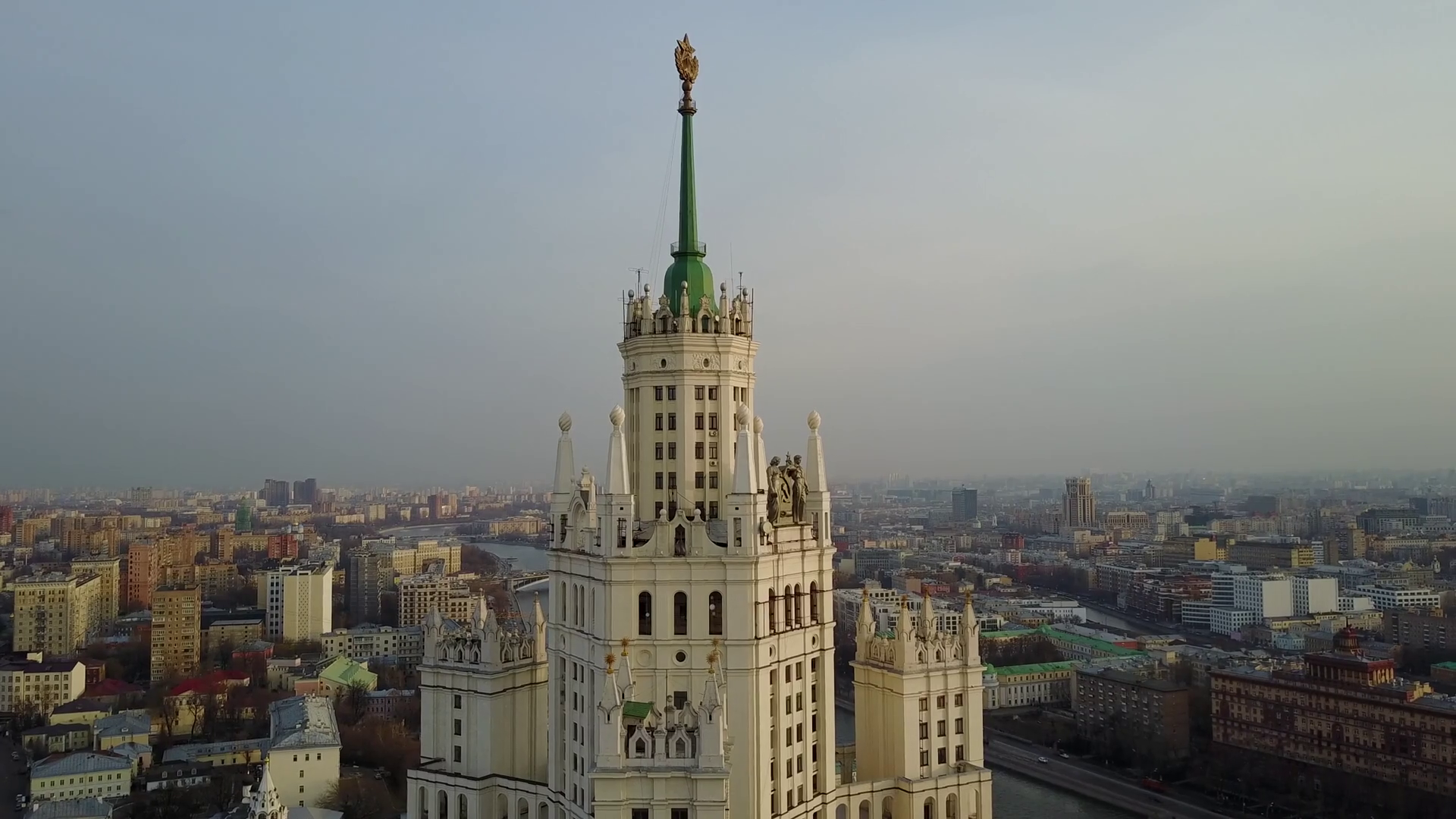 Moscow Old Historical Building Stock Video Footage - VideoBlocks