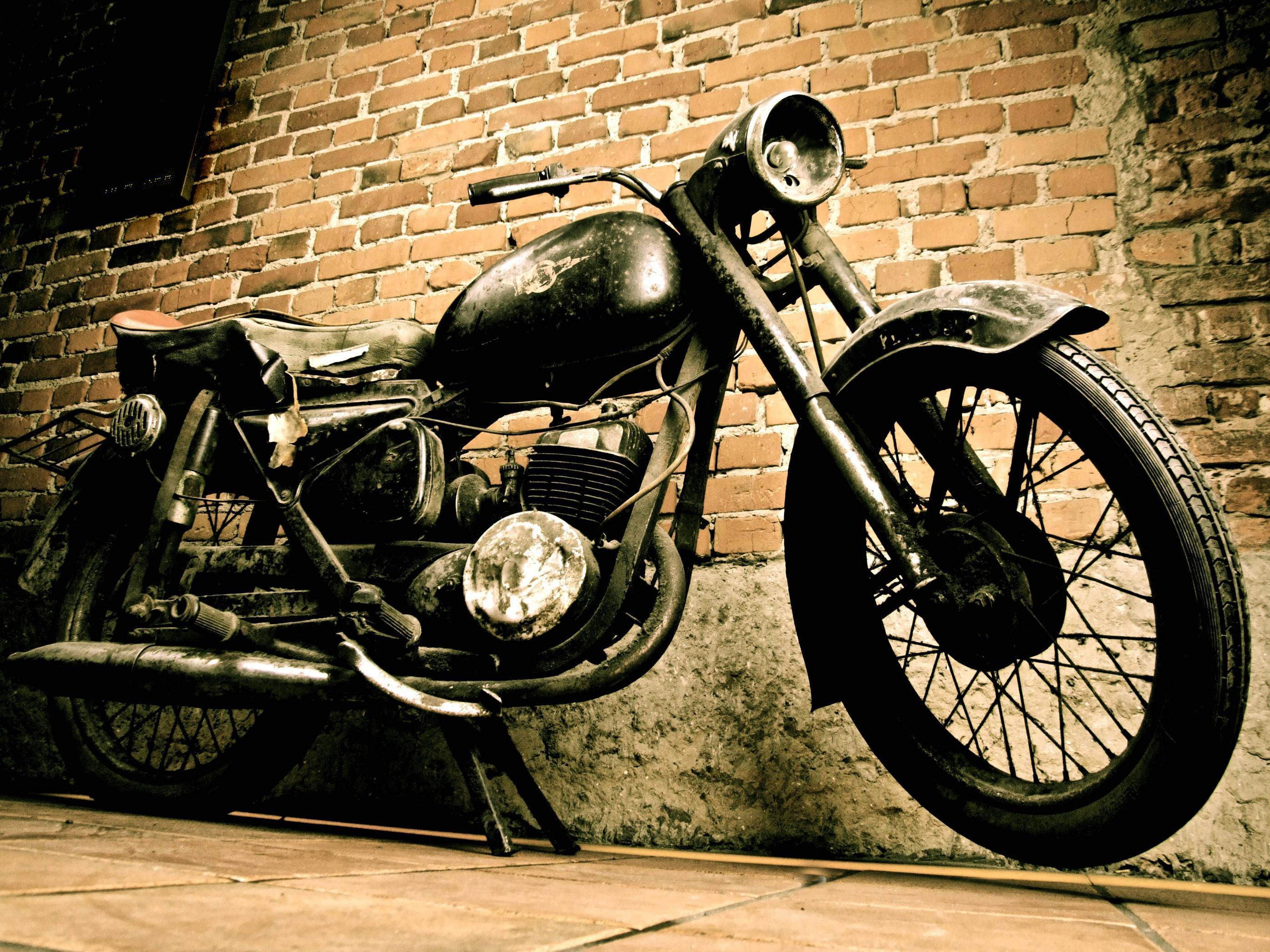 Old motor cycle photo