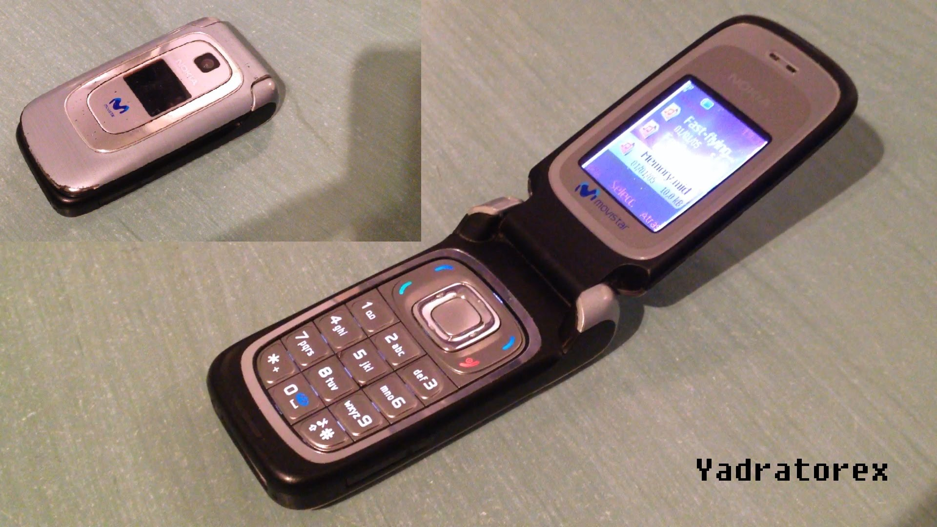 Nokia 6085 retro review (old ringtones, themes & games) flip phone ...
