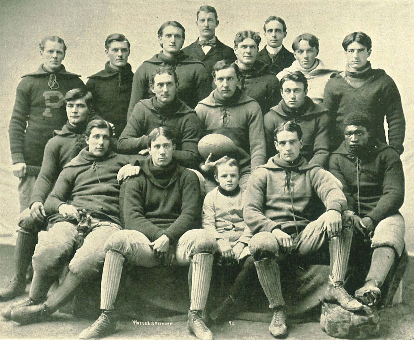 Old Gold: UI football player in 1890s one of first in the sport to ...