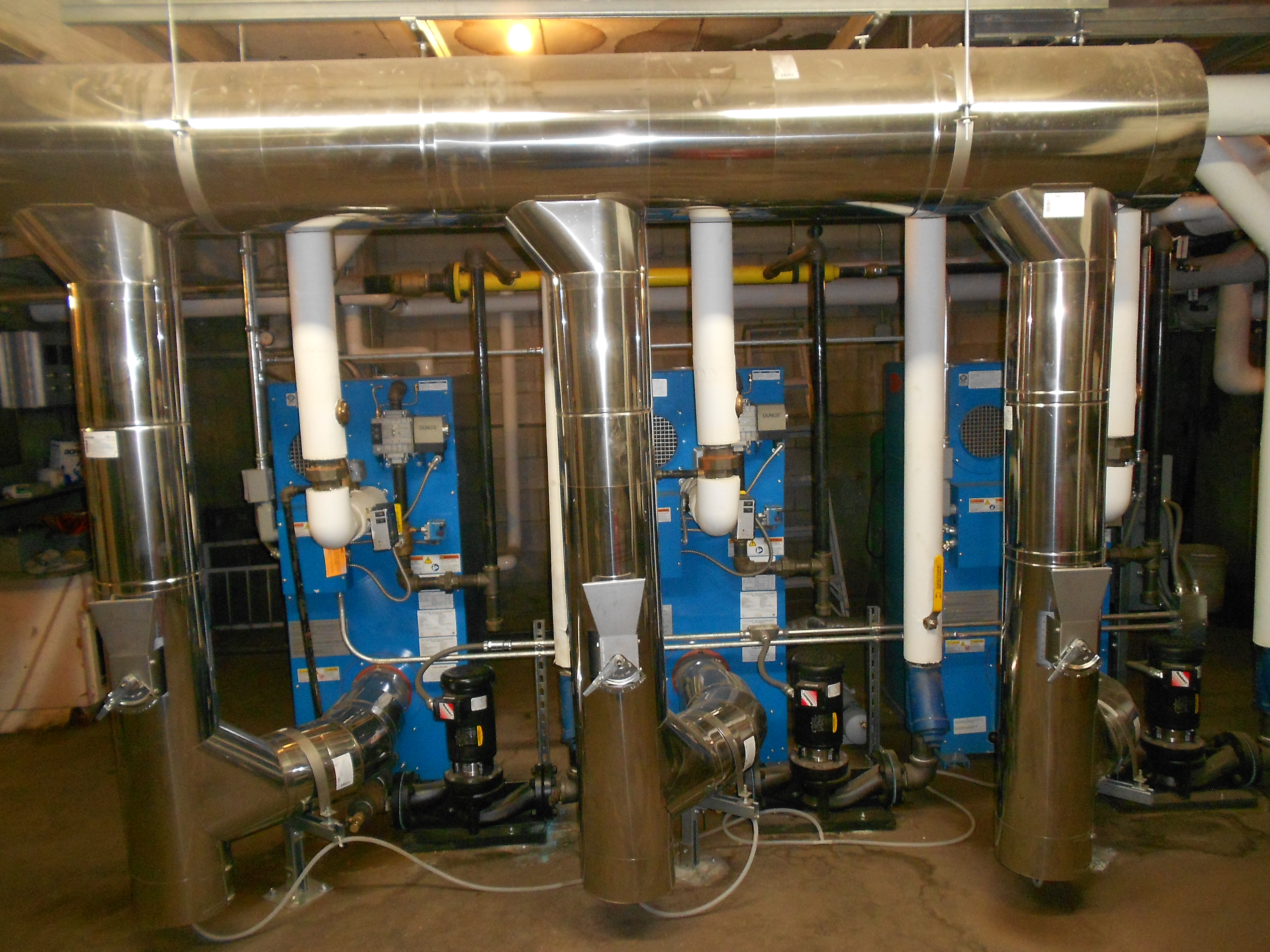 Upgrade of a 50-year old heating system at Santa Monica Condominium ...