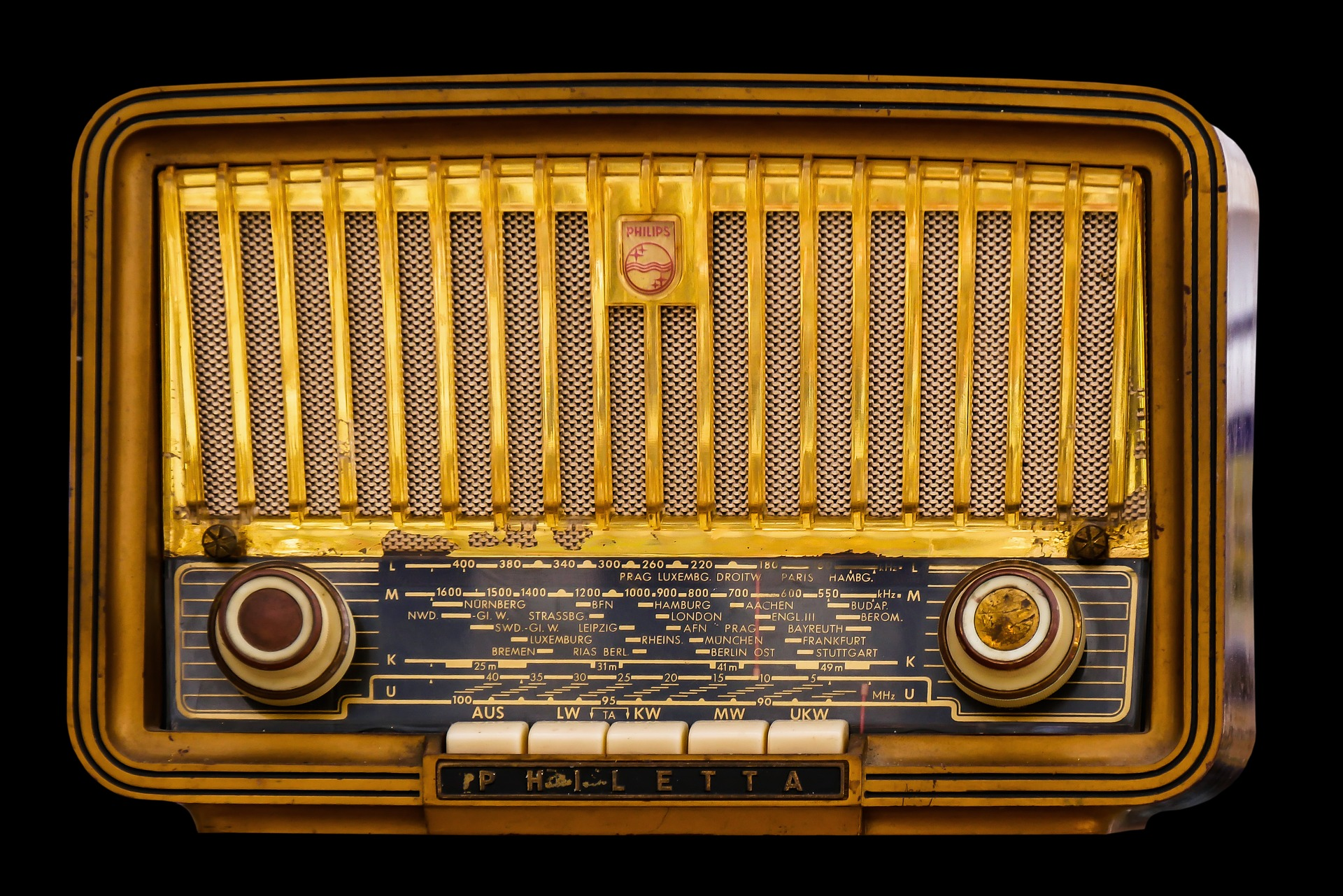 Old Radio, Frequency, Machine, Object, Old, HQ Photo